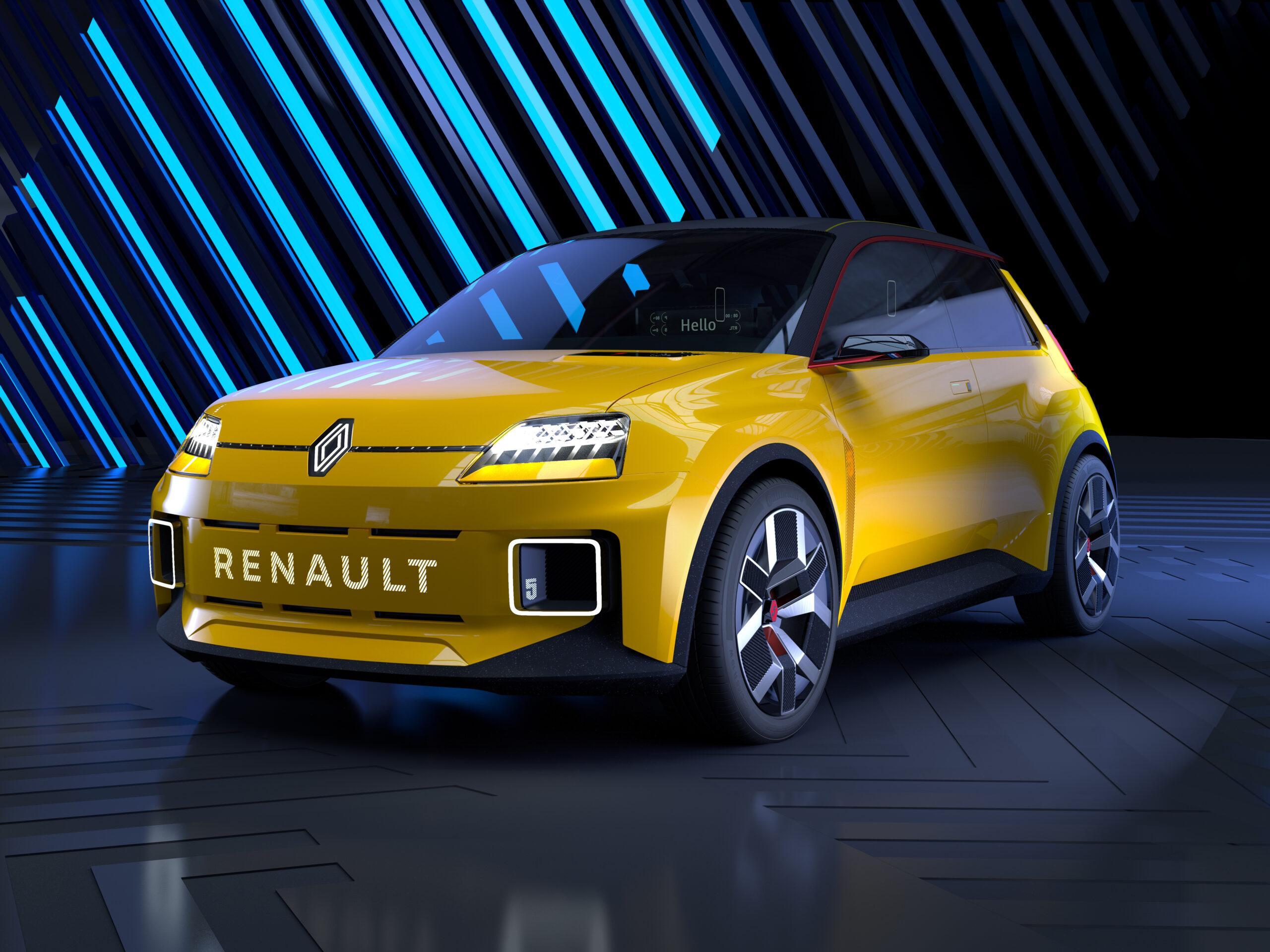 Torna Renault 5 Prototype, ma adesso è elettrica.