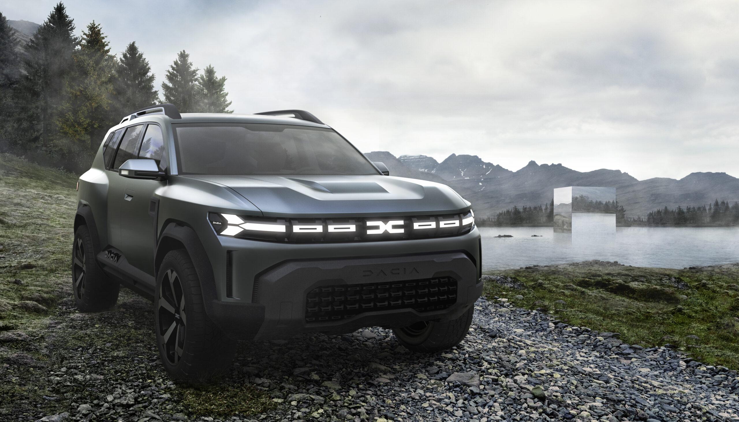 Dacia Bigster Concept, una ventata di freschezza.