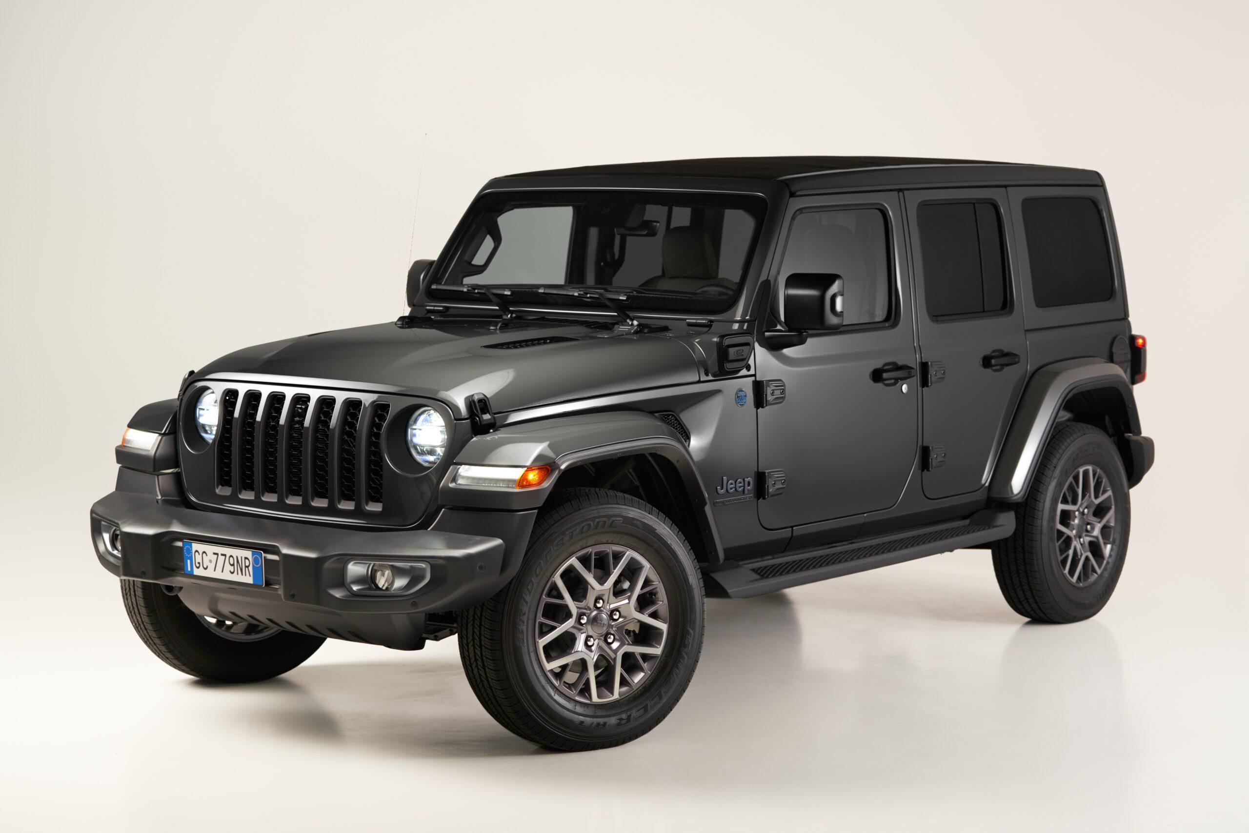 Jeep Wrangler 4xe: debutta la First Edition.