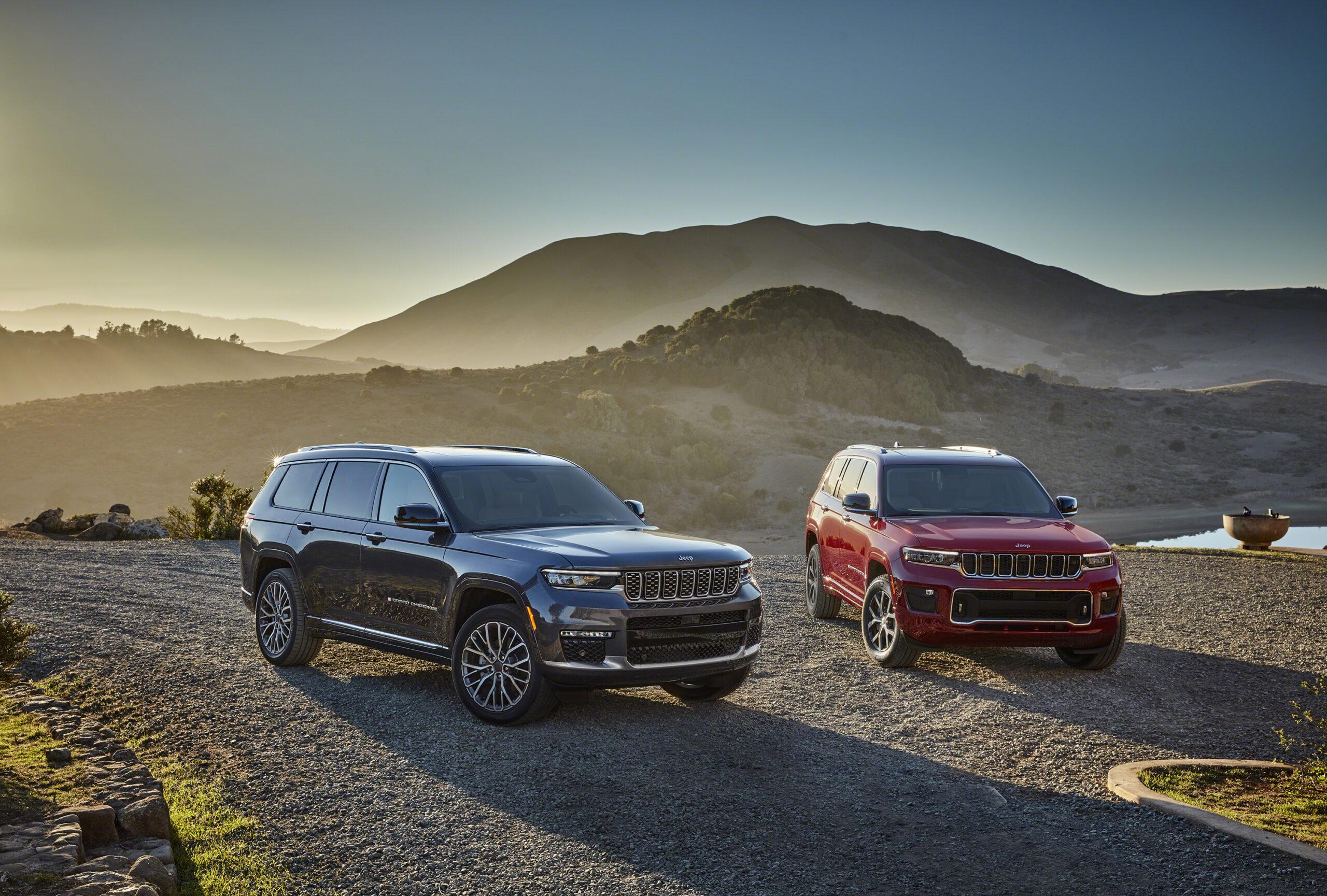 Nuova Jeep Grand Cherokee 2021, ma solo per gli USA.