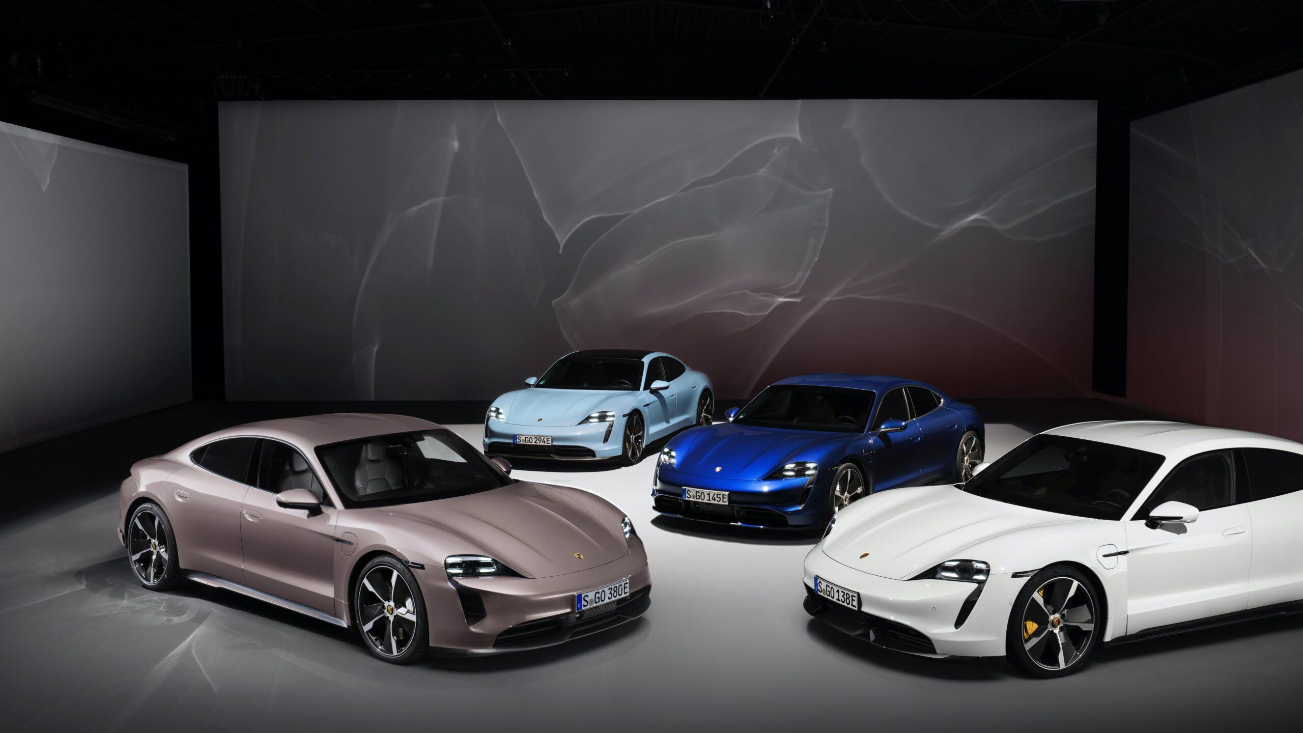 Porsche Taycan: Arriva l'entry-level da 476 CV.