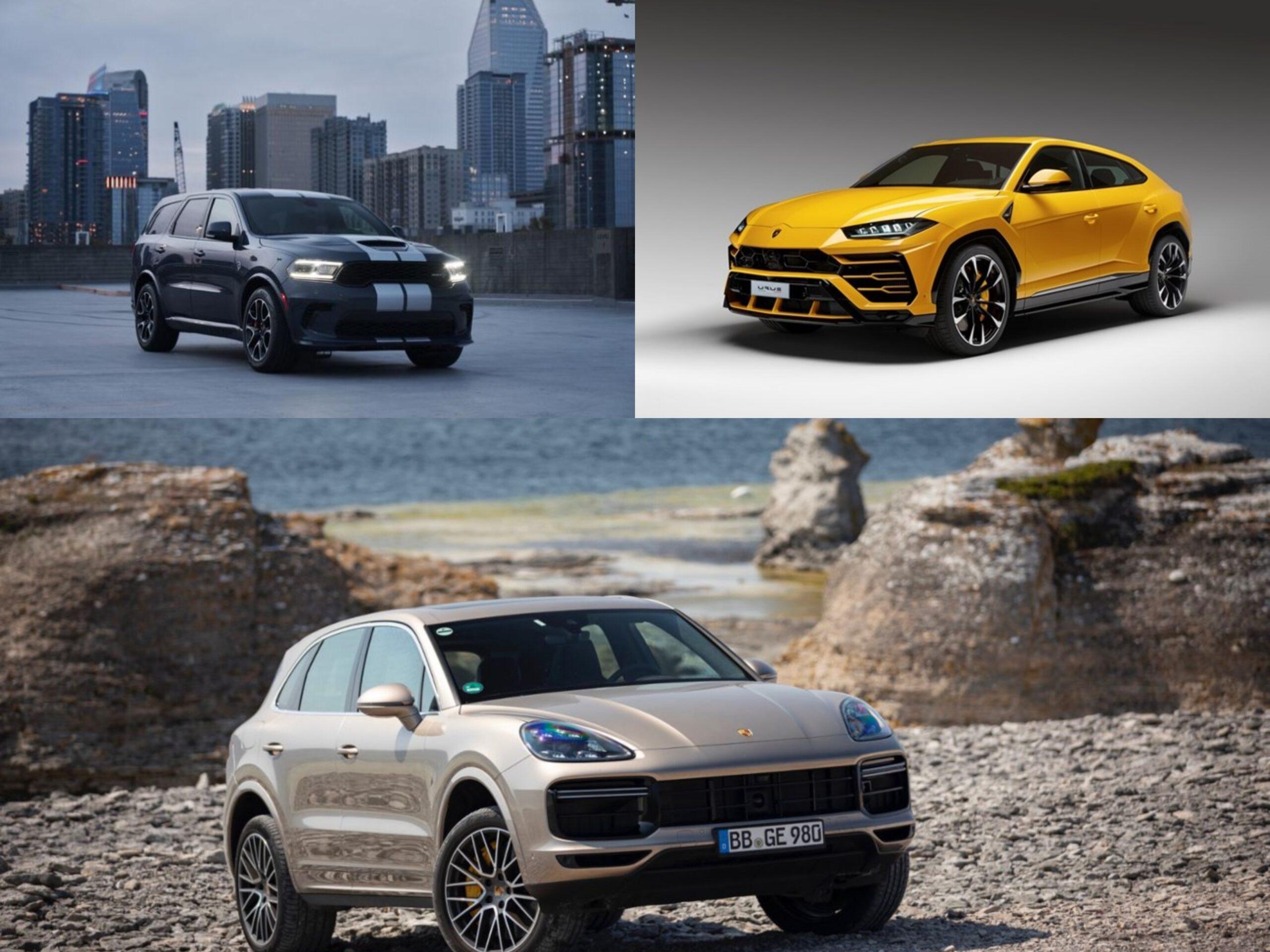I 5 SUV più potenti al mondo. Classifica 2021.