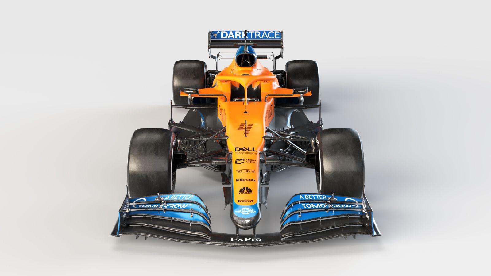 Ecco la nuova McLaren MCL35M.