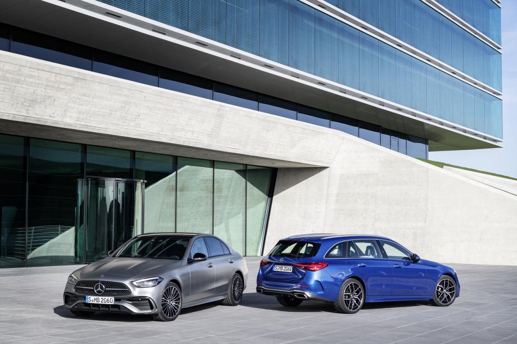 Nuova Mercedes Classe C, ora completamente ibrida.