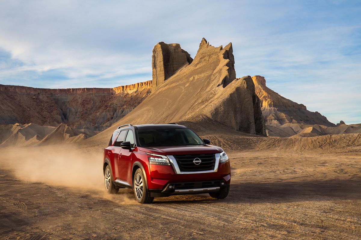 Nuova Nissan Pathfinder: esclusiva Stati Uniti.