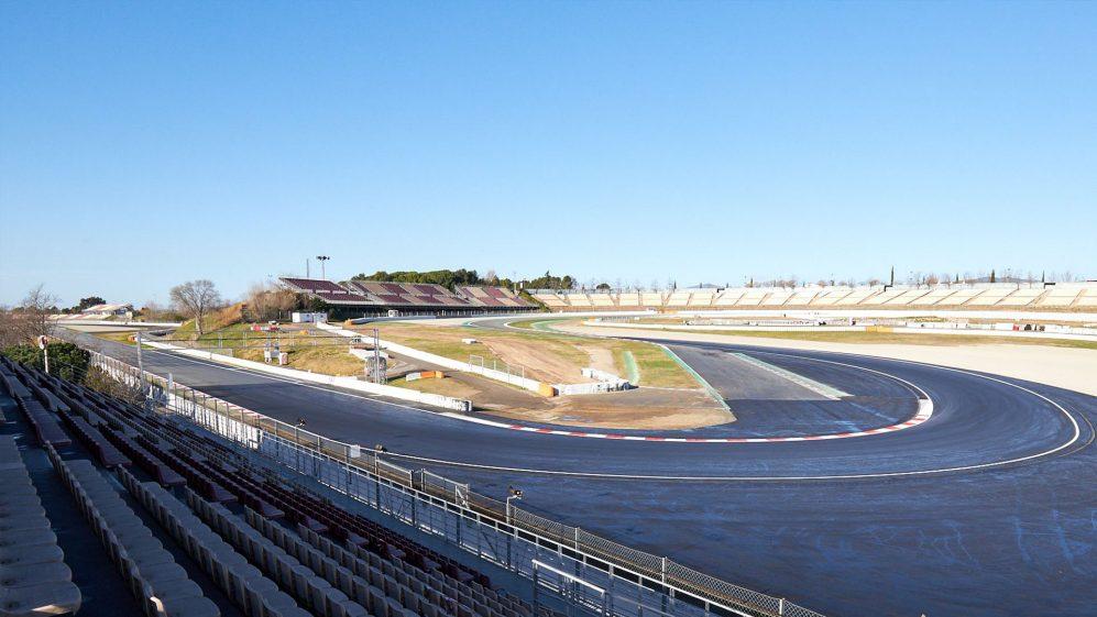 Spagna Gp: completata la  modifica al circuito.