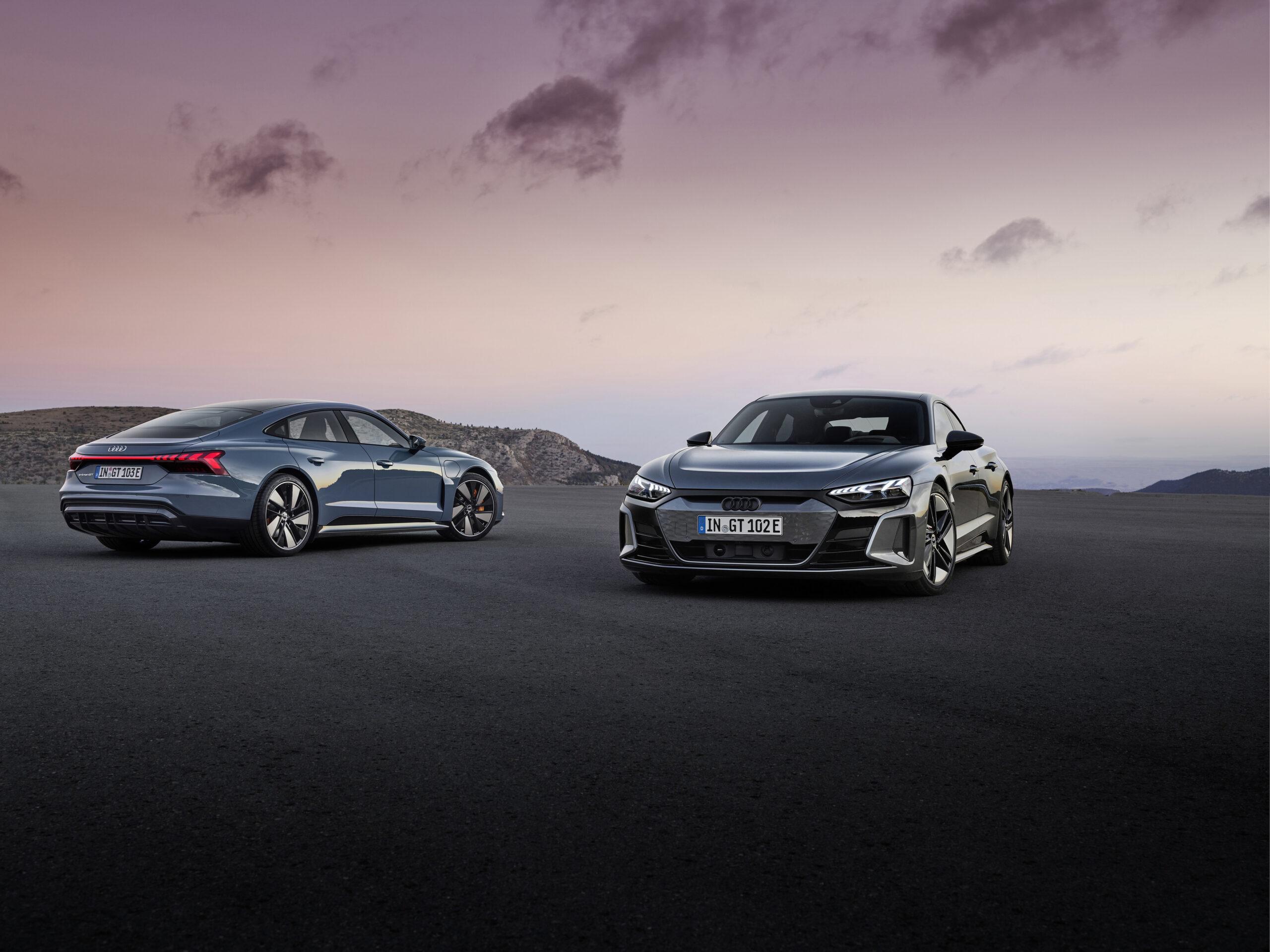 Ecco svelata la nuova Audi e-tron GT: tutti i dettagli.