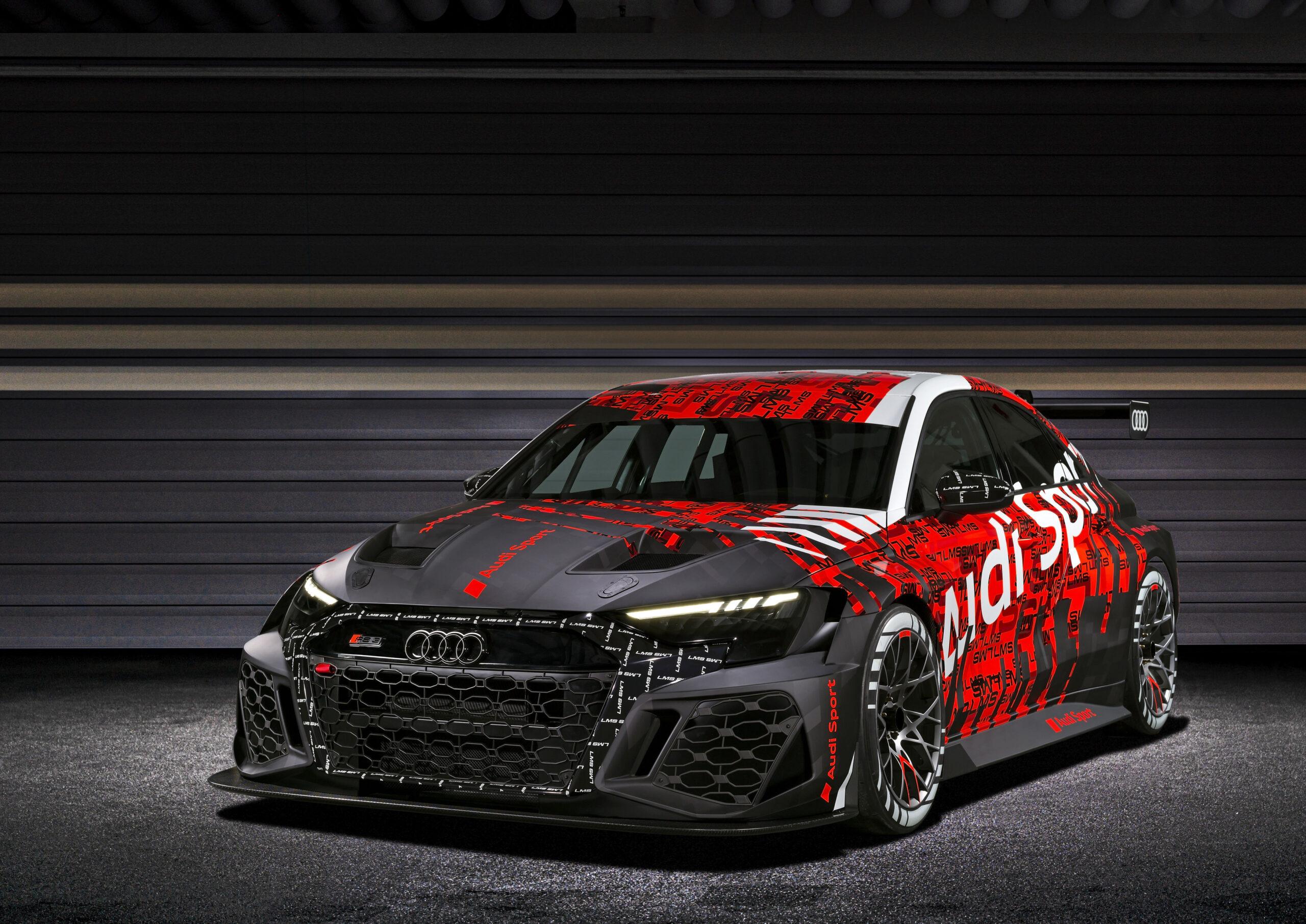 Audi RS 3: presentata la versione da corsa.