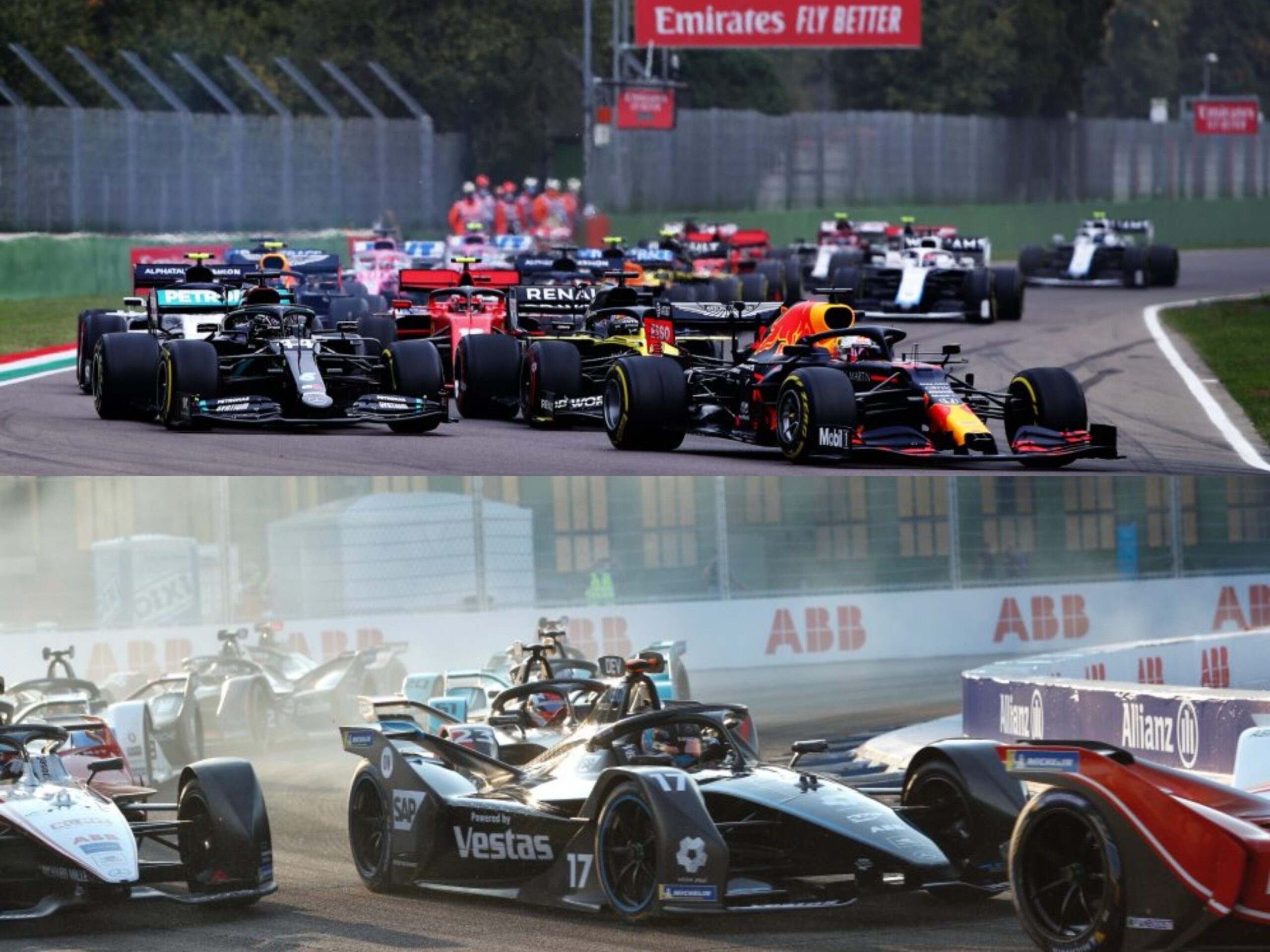 Formula 1 vs Formula E. Chi vince?
