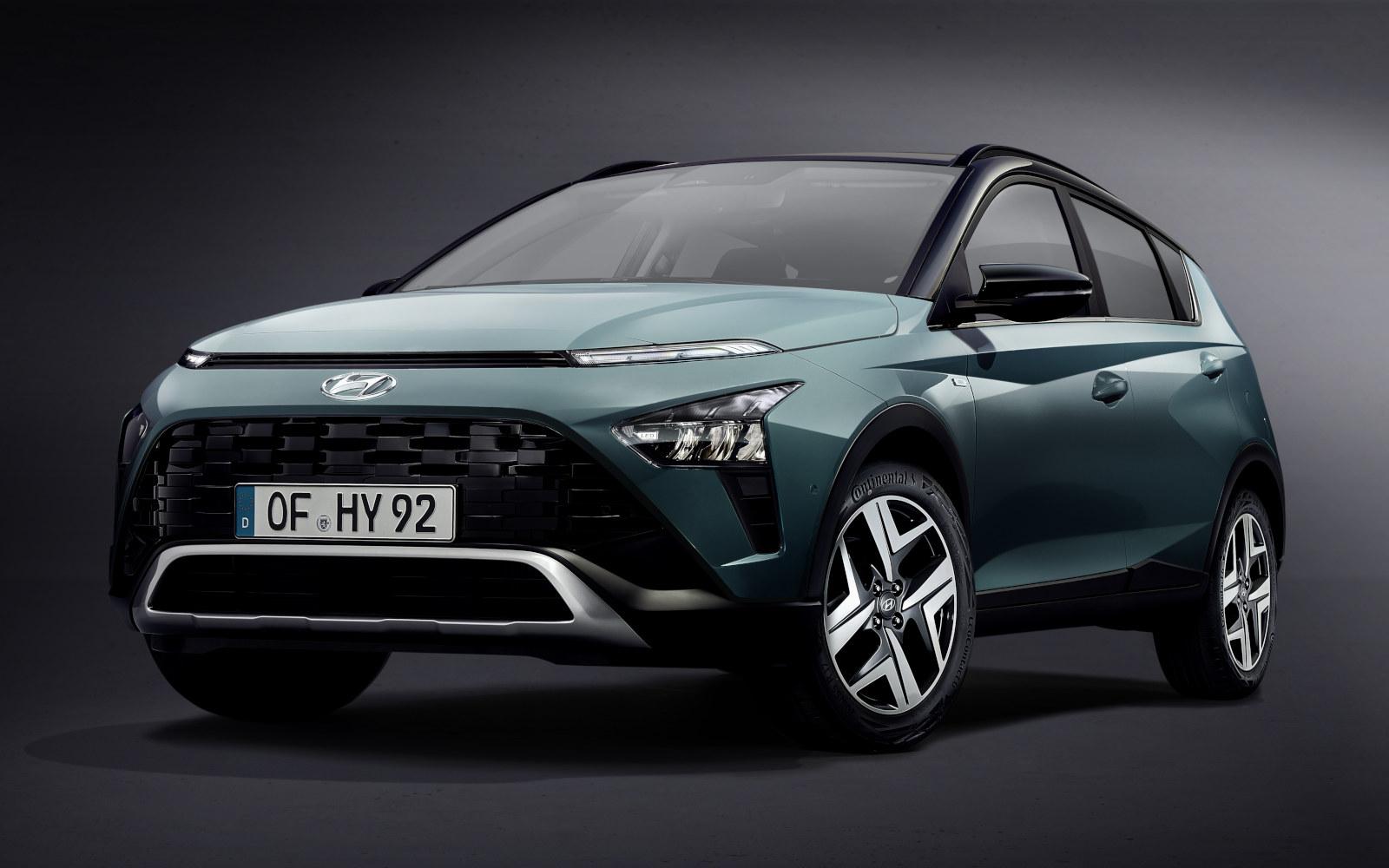 Svelata la nuova Hyundai BAYON: tutti i dettagli.