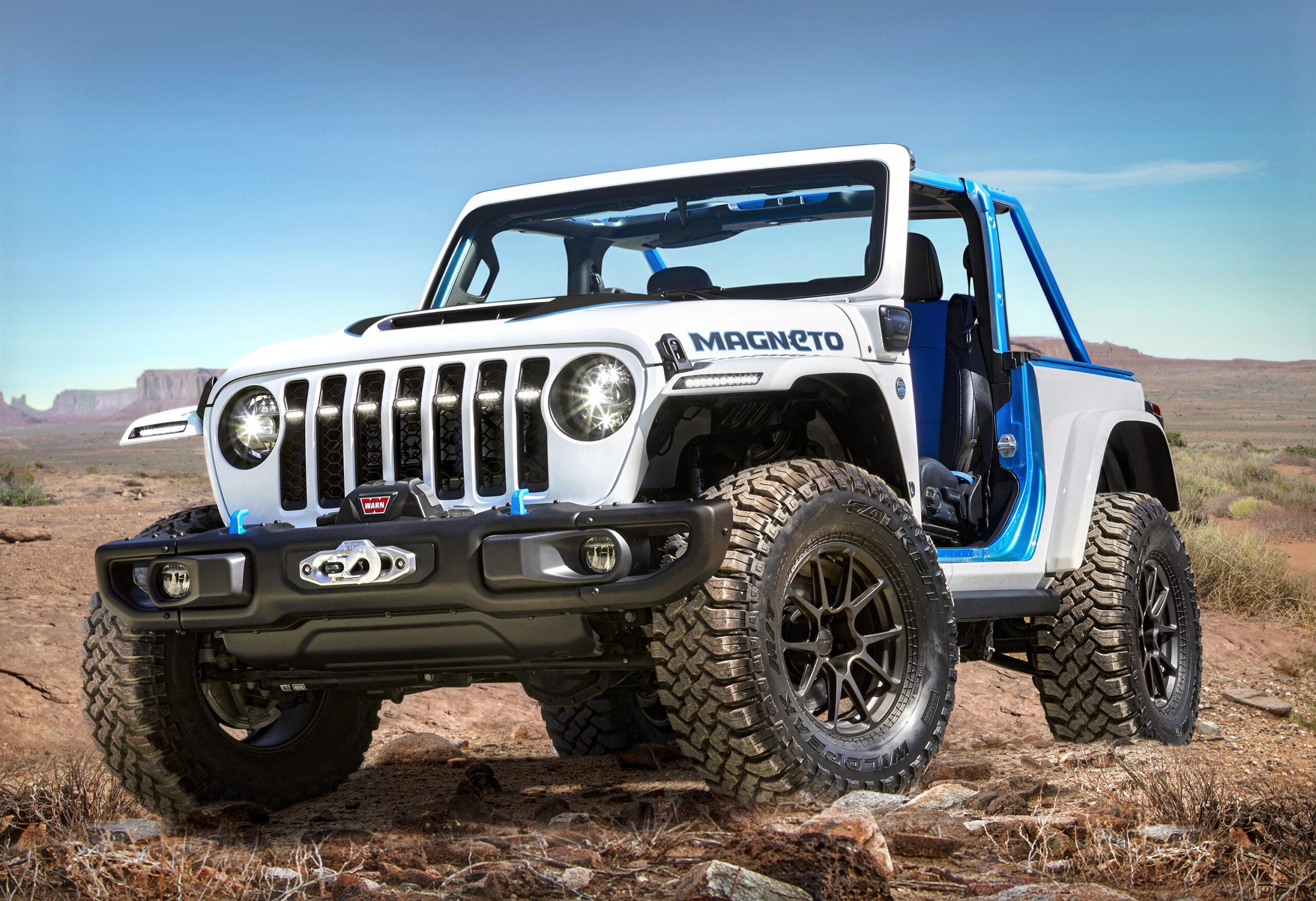 Jeep presenta dei veicoli concept ultra-performanti.