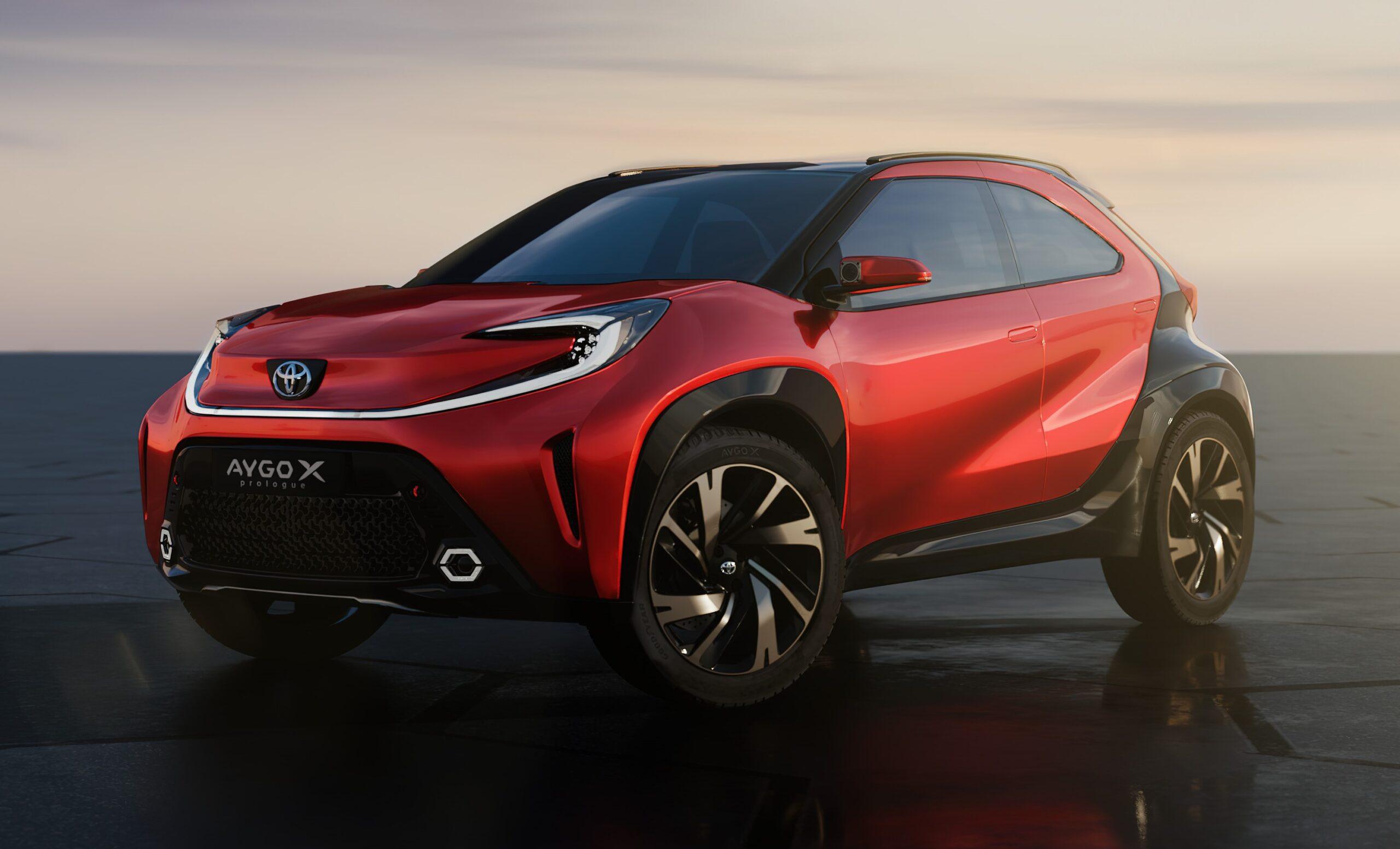 Toyota Aygo X prologue: presentato il piccolo SUV.