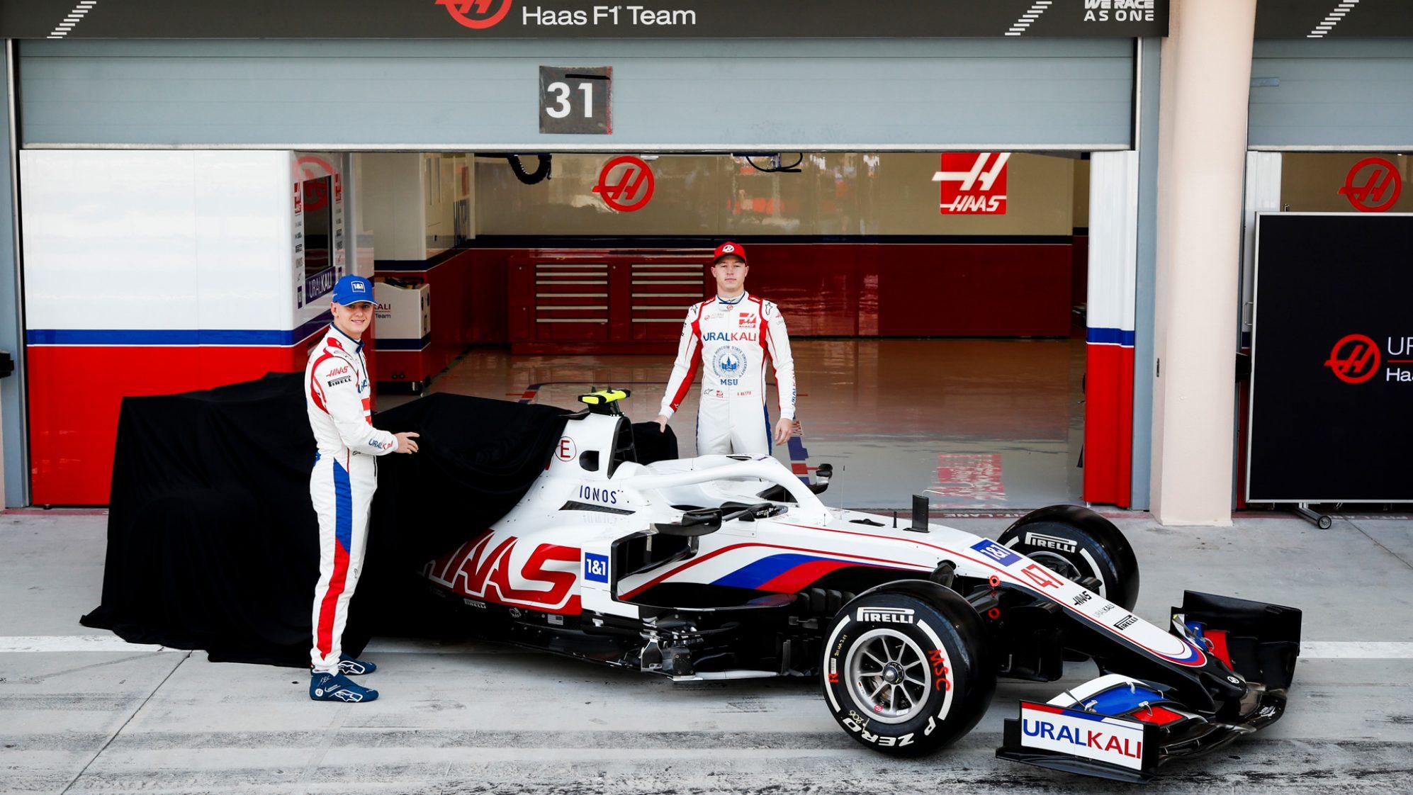 Haas svela ufficialmente la monoposto 2021 di F1, la VF-21