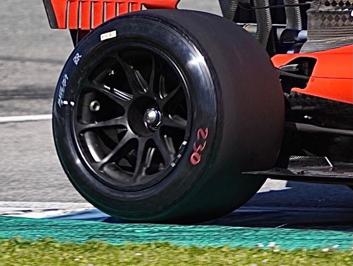 Ecco le date dei test per le gomme da 18 pollici di F1.
