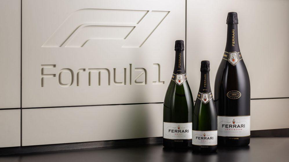 Ferrari Trento è lo spumante ufficiale del podio di F1.