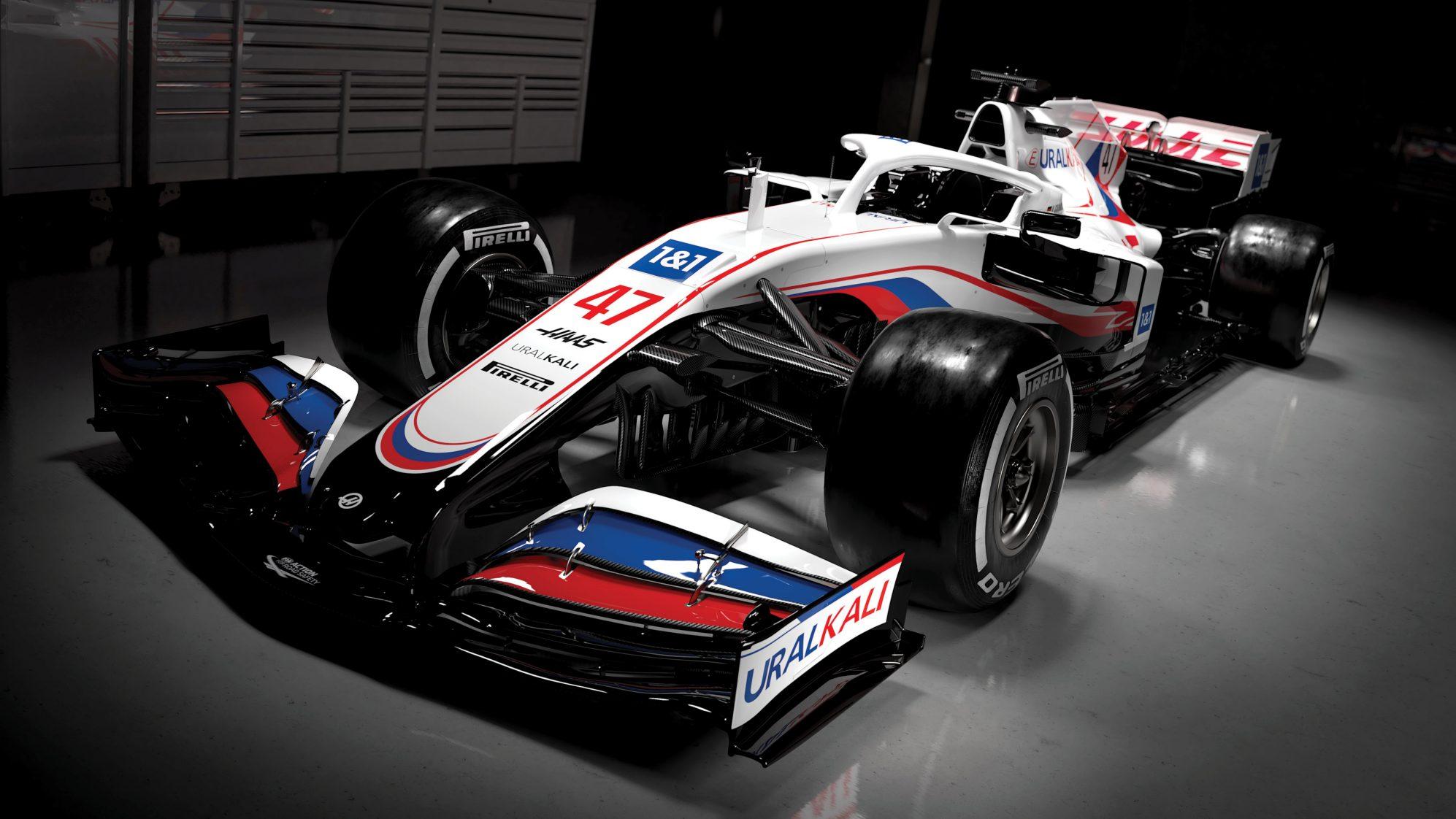 Haas F1 Team presenta la livrea della vettura 2021.