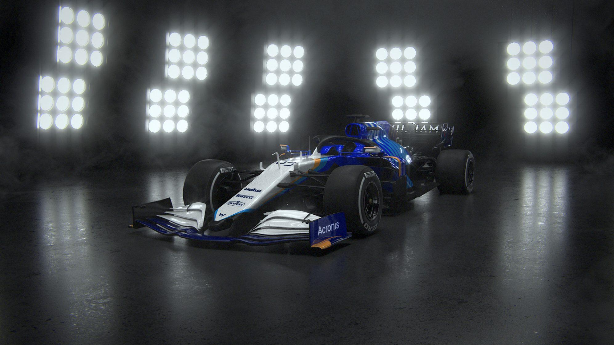 Williams svela la vettura di F1 del 2021