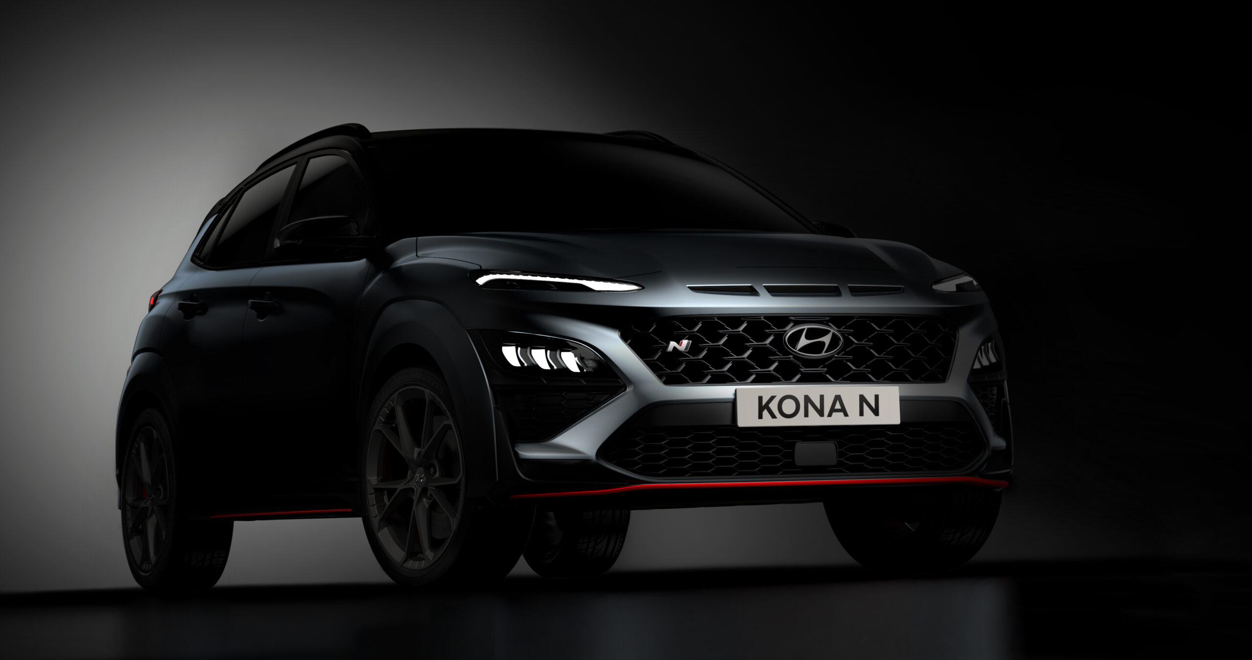 Hyundai Kona N: primo sguardo al nuovo SUV sportivo.