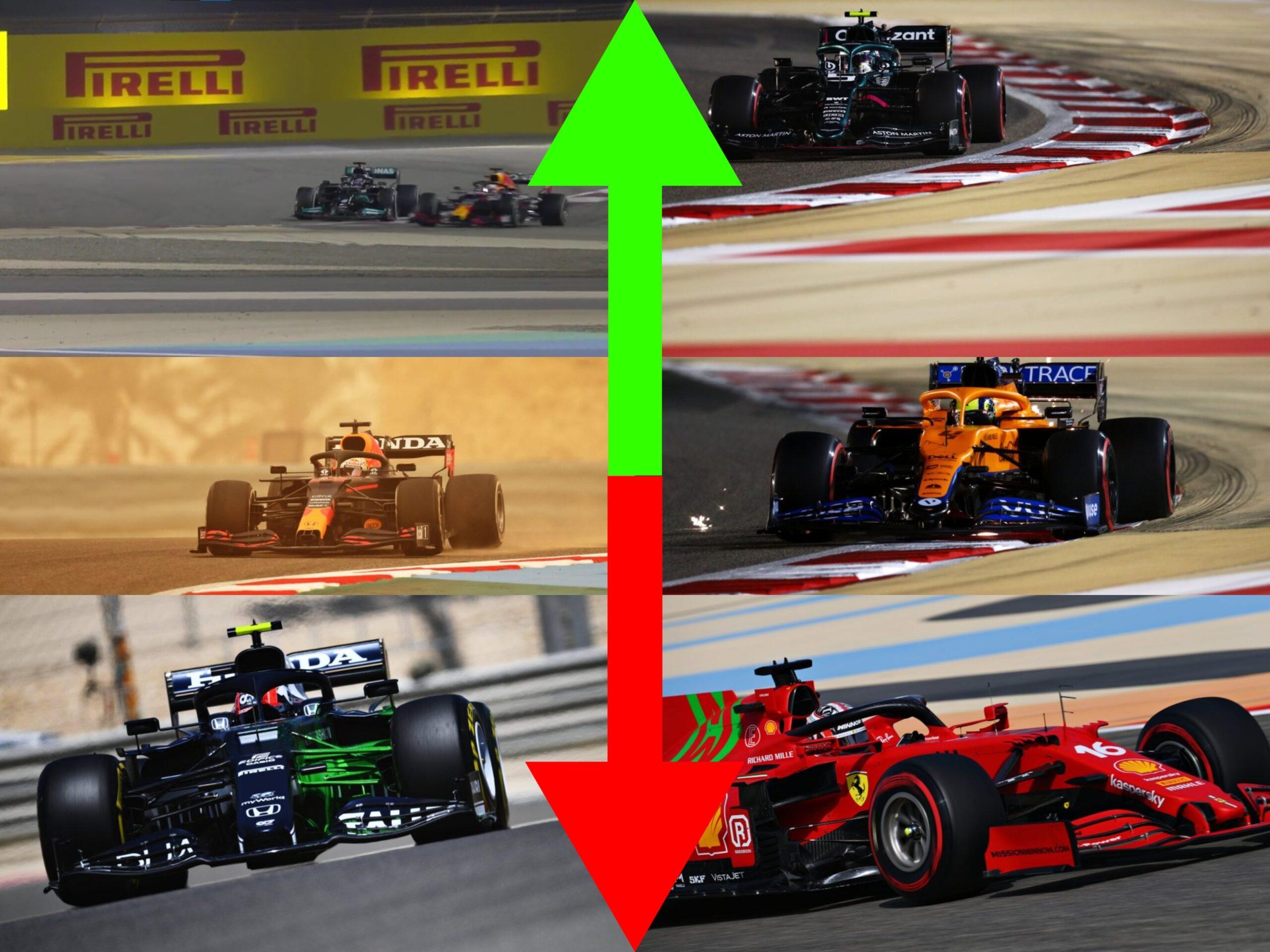 Pagelle Gp del Bahrain 2021.