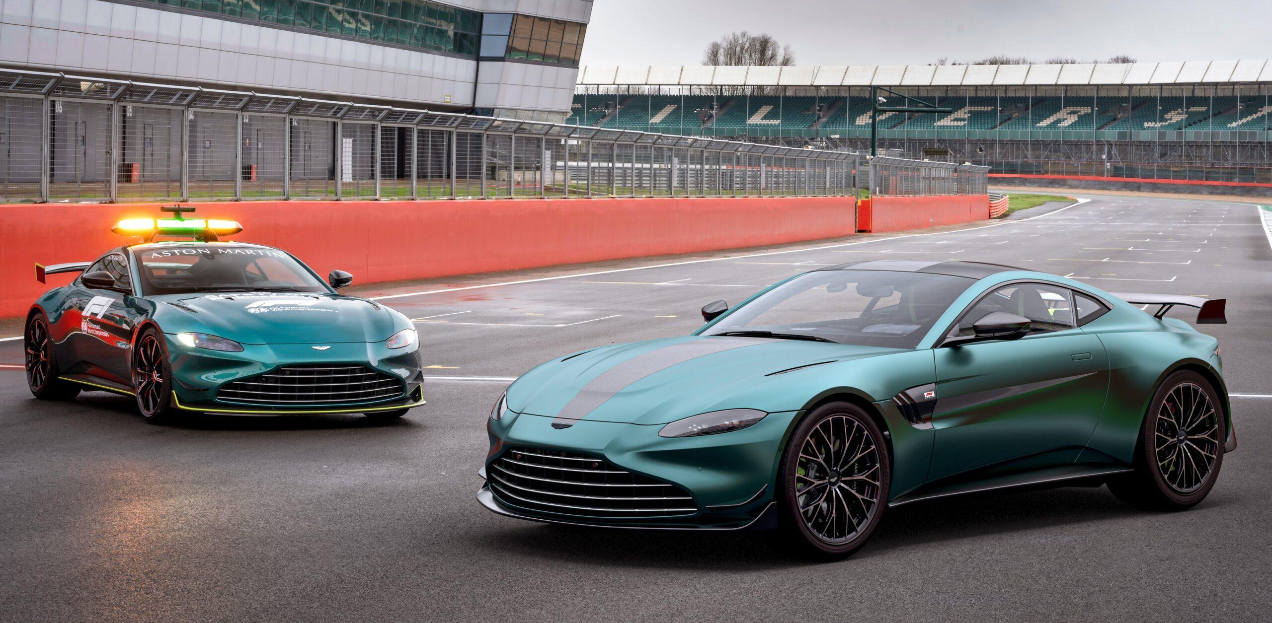 Aston Martin Vantage F1 Edition: nuova versione speciale.