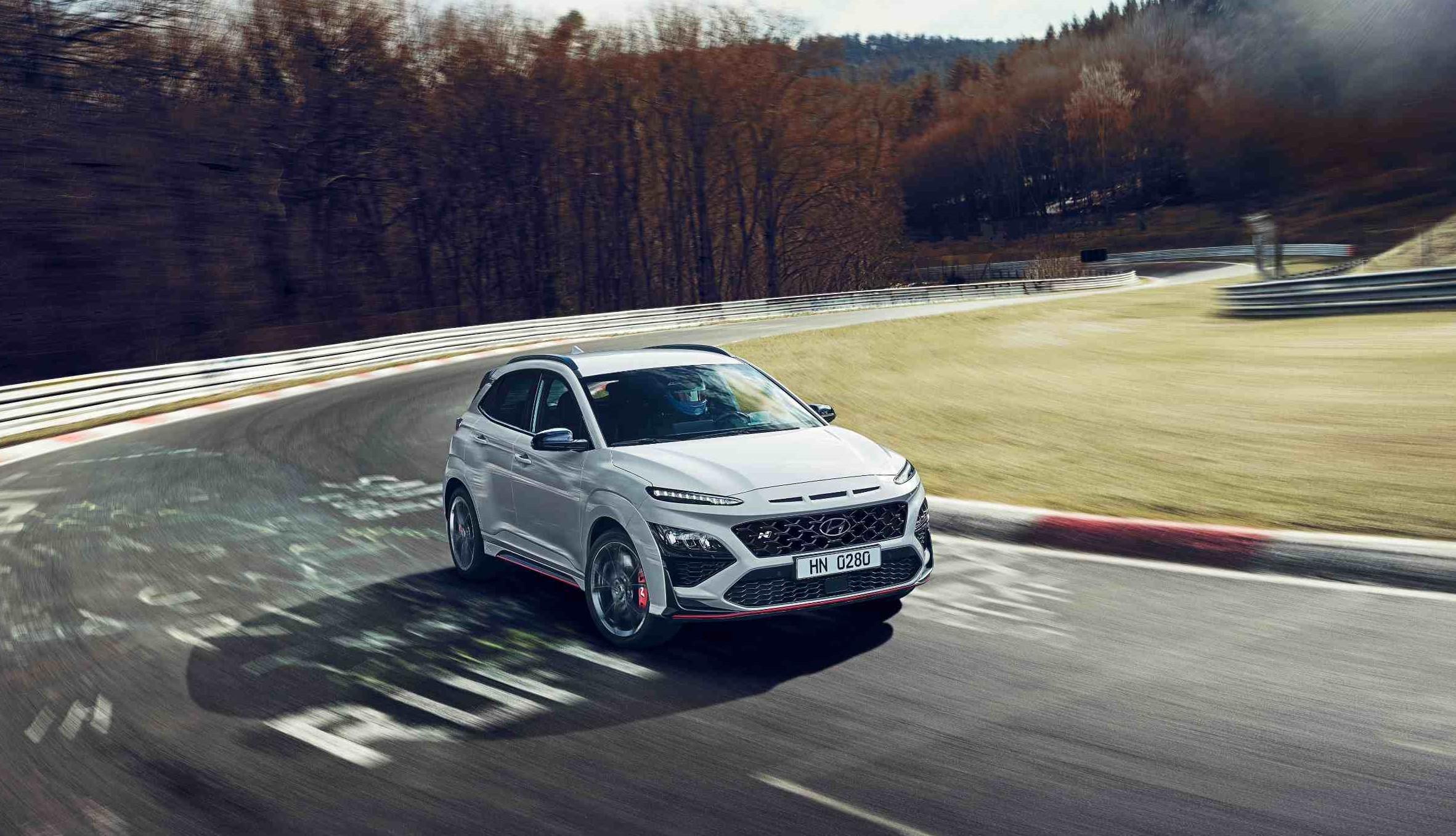 Hyundai Kona N: Suv sportivo da 280 cavalli.