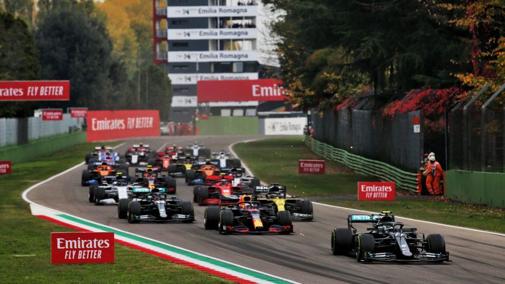 Cambiano gli orari del weekend del Gp d'Imola di F1.