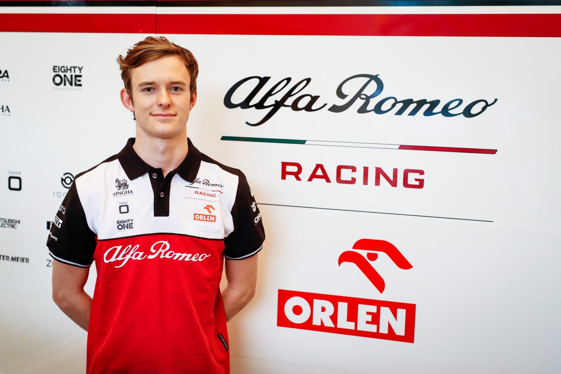 Callum Ilott diventa pilota di riserva dell'Alfa Romeo e guiderà la C41 nelle prove libere di Portogallo.
