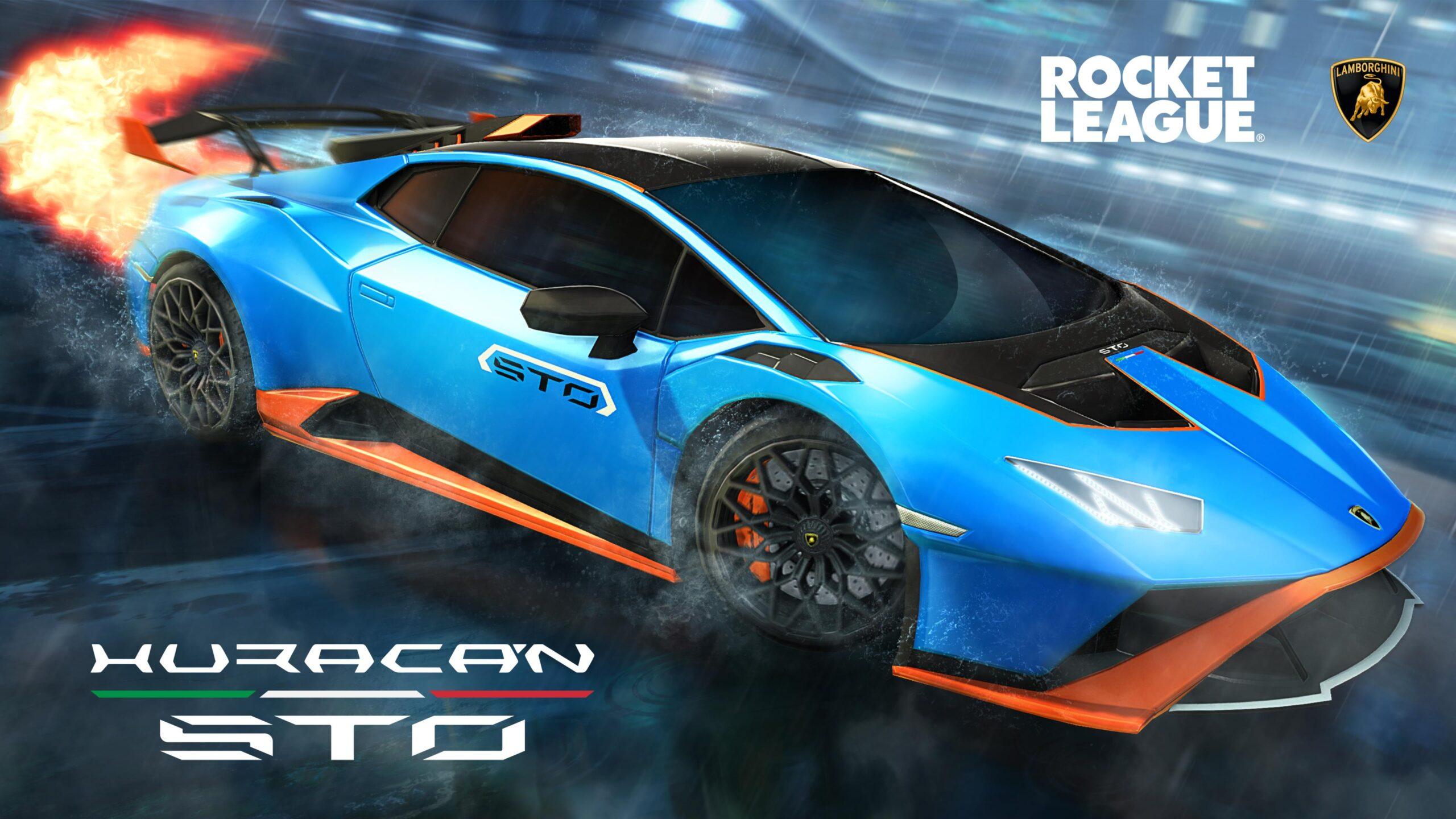 Lamborghini entra nel mondo di Rocket League, adesso si potrà usare la Huracan STO.