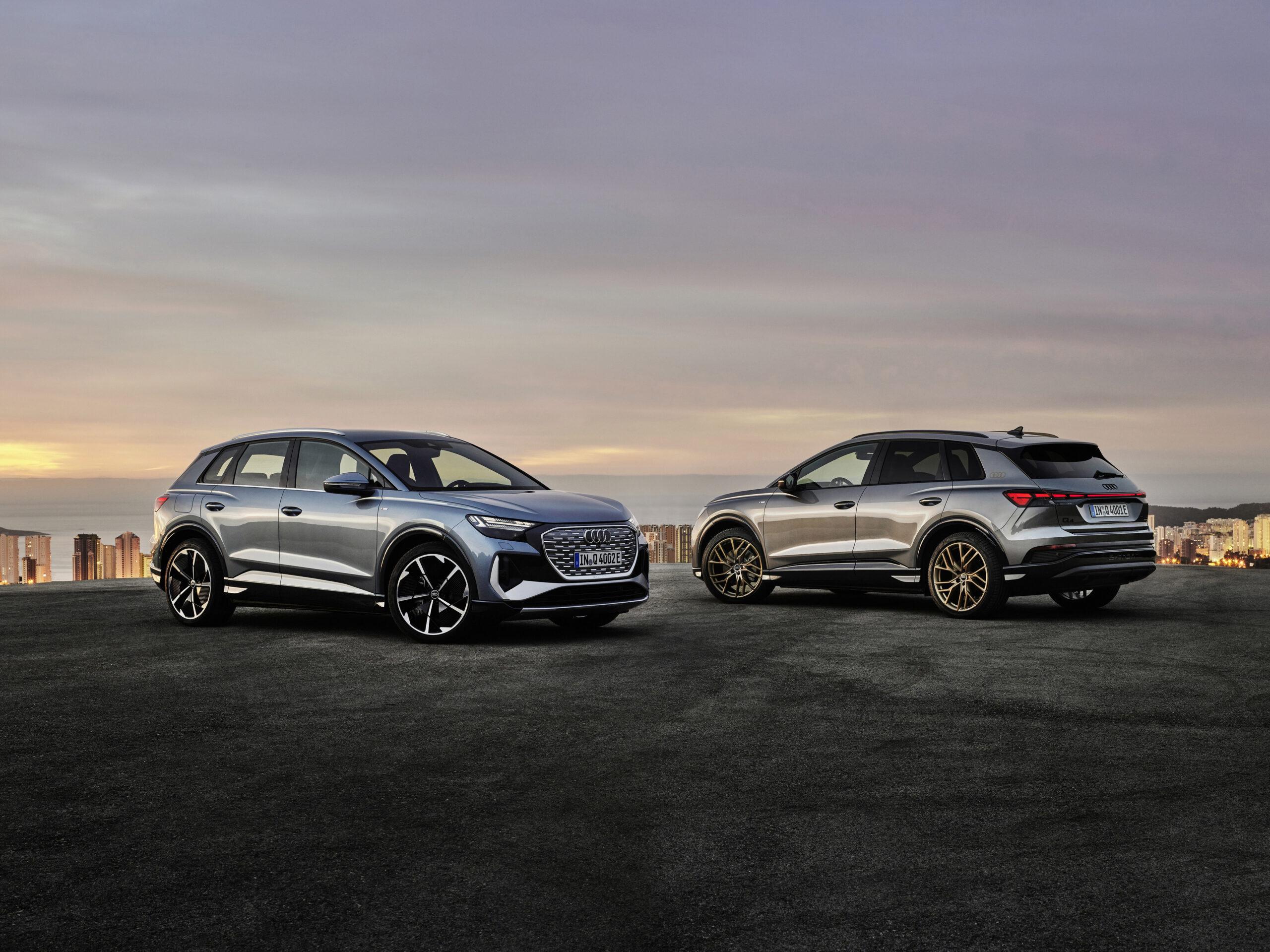 Presentata l'Audi Q4 e-tron e Q4 Sportback e-tron: tutte le informazioni.