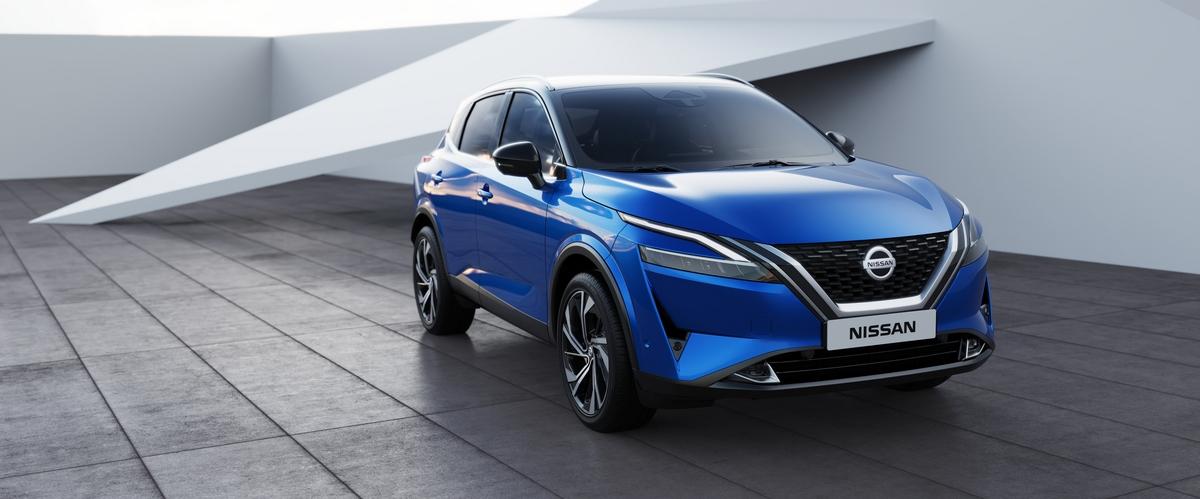 Nuova Nissan Qashqai a partire da 25.500€: tutti prezzi.