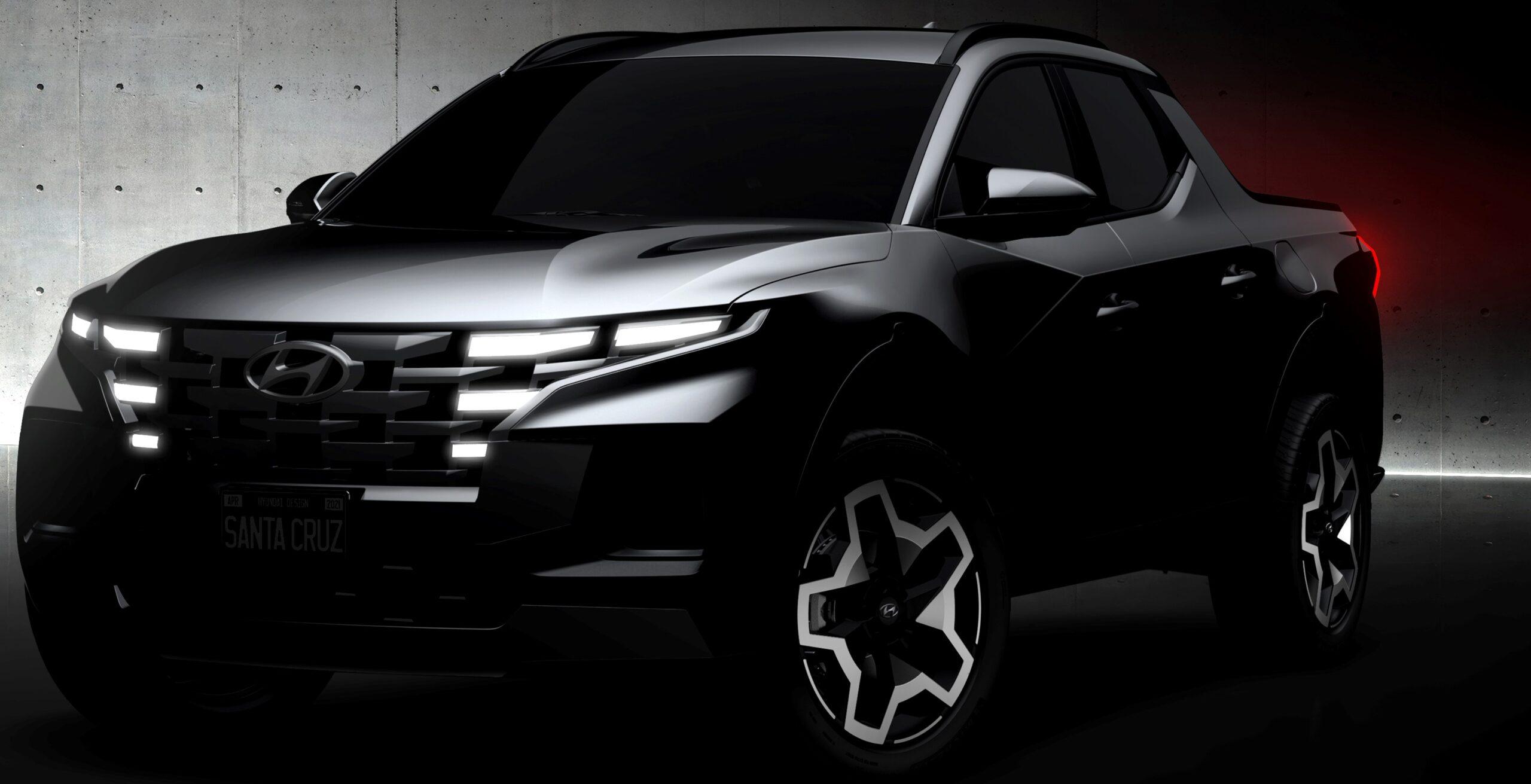 Svelate le prime immagini della Hyundai pick-up.