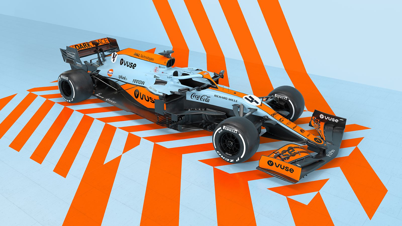 Nuova livrea per la McLaren nel Gp di Monaco di F1.