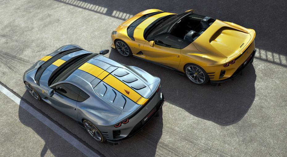 Presentata la nuova Ferrari 812 Competizione e 812 Competizione A
