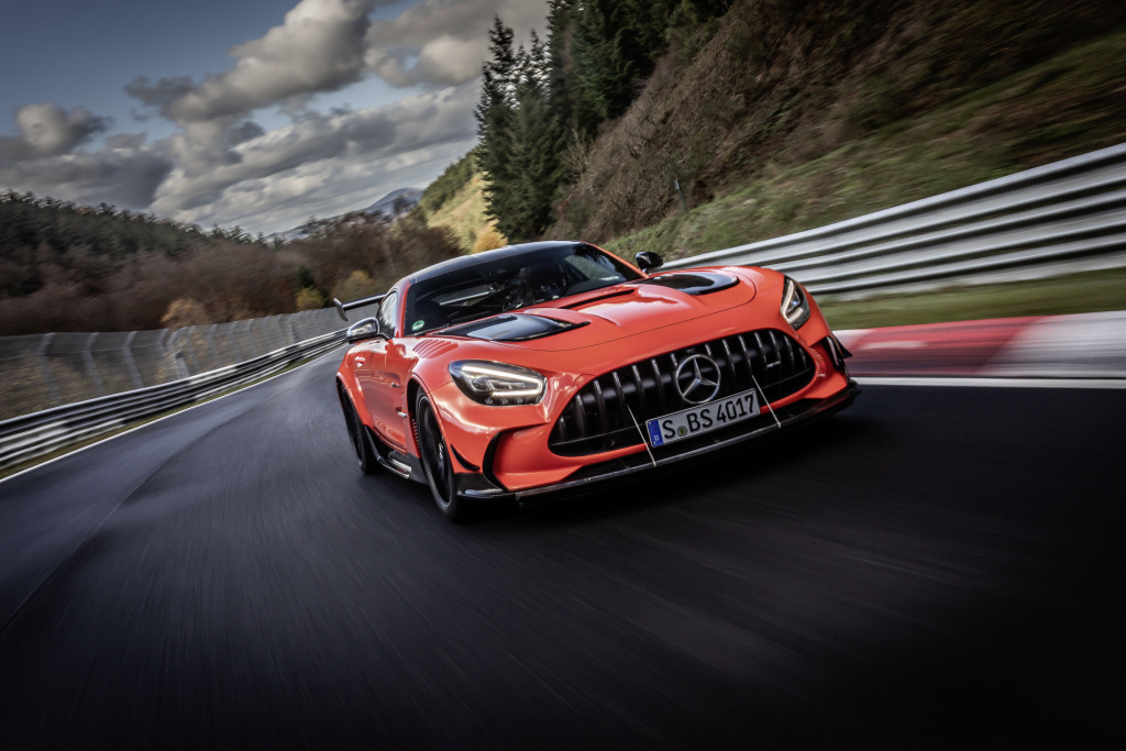 Quanto costa mantenere una Mercedes AMG GT Black Series?