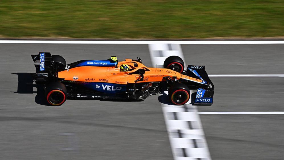 Lando Norris: rinnovo del contratto con la McLaren F1.