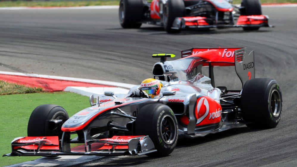 McLaren MP4-25A del 2010 di Lewis Hamilton sarà messa all'asta.