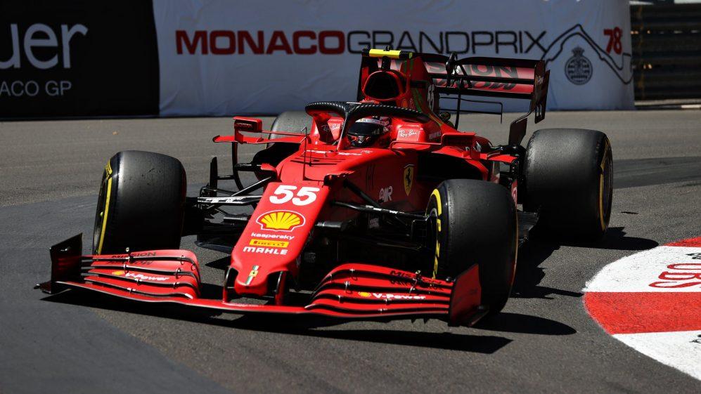 """Carlos Sainz sulle prove libere del Gp di Monaco:"""" Erano soltato prove libere""""."""
