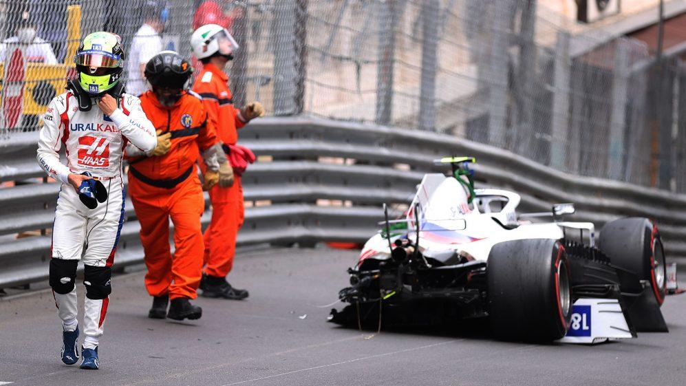 Mick Schumacher salterà le qualifiche del Gp di Monaco.