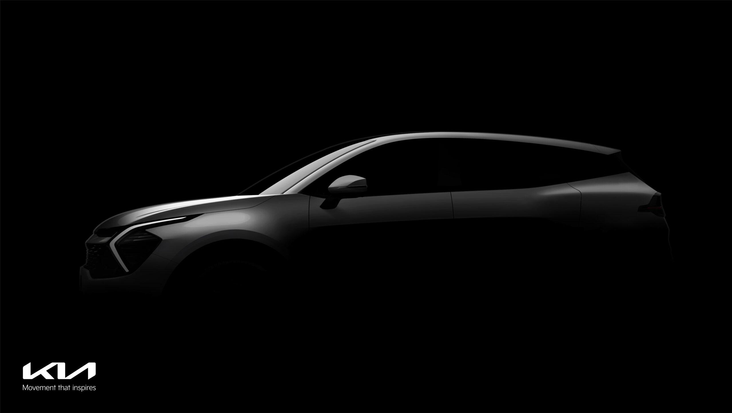 Prime immagini della nuova Kia Sportage.