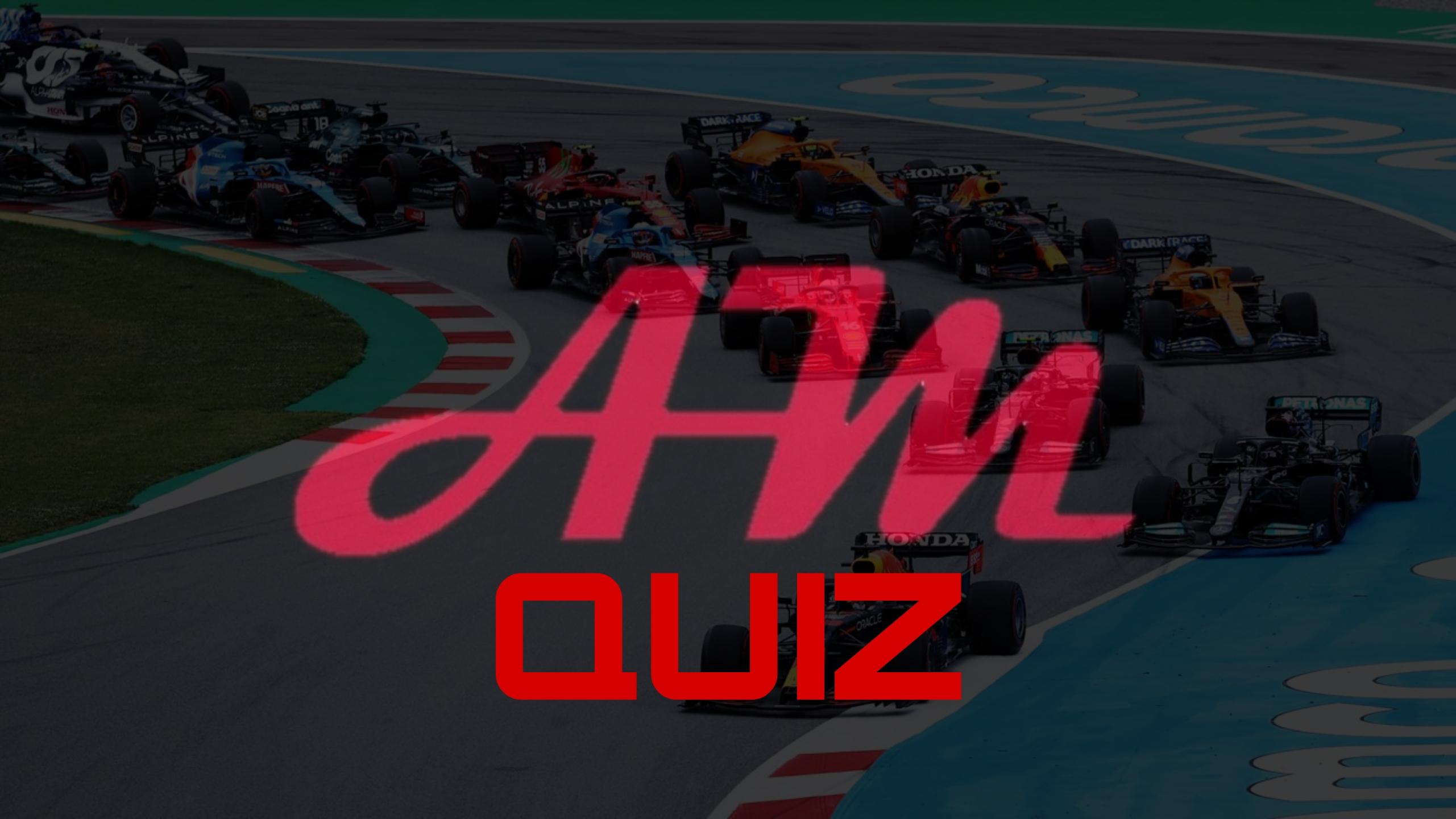 Quiz di F1: Indovina il compagno di squadra.