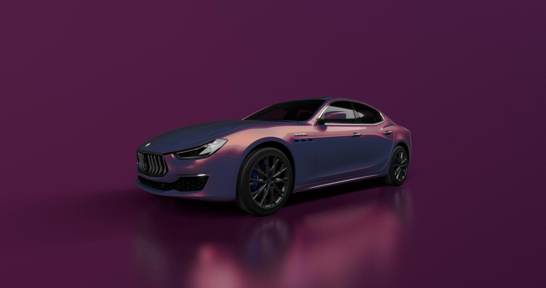 Maserati presenta la nuova Ghibli Hybrid Love Audacious