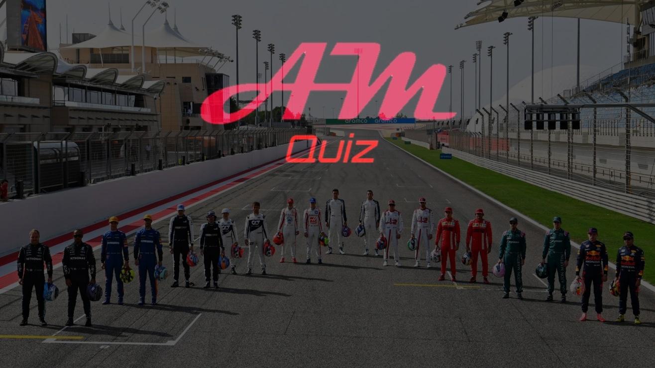 Quiz F1: Indovina il pilota.