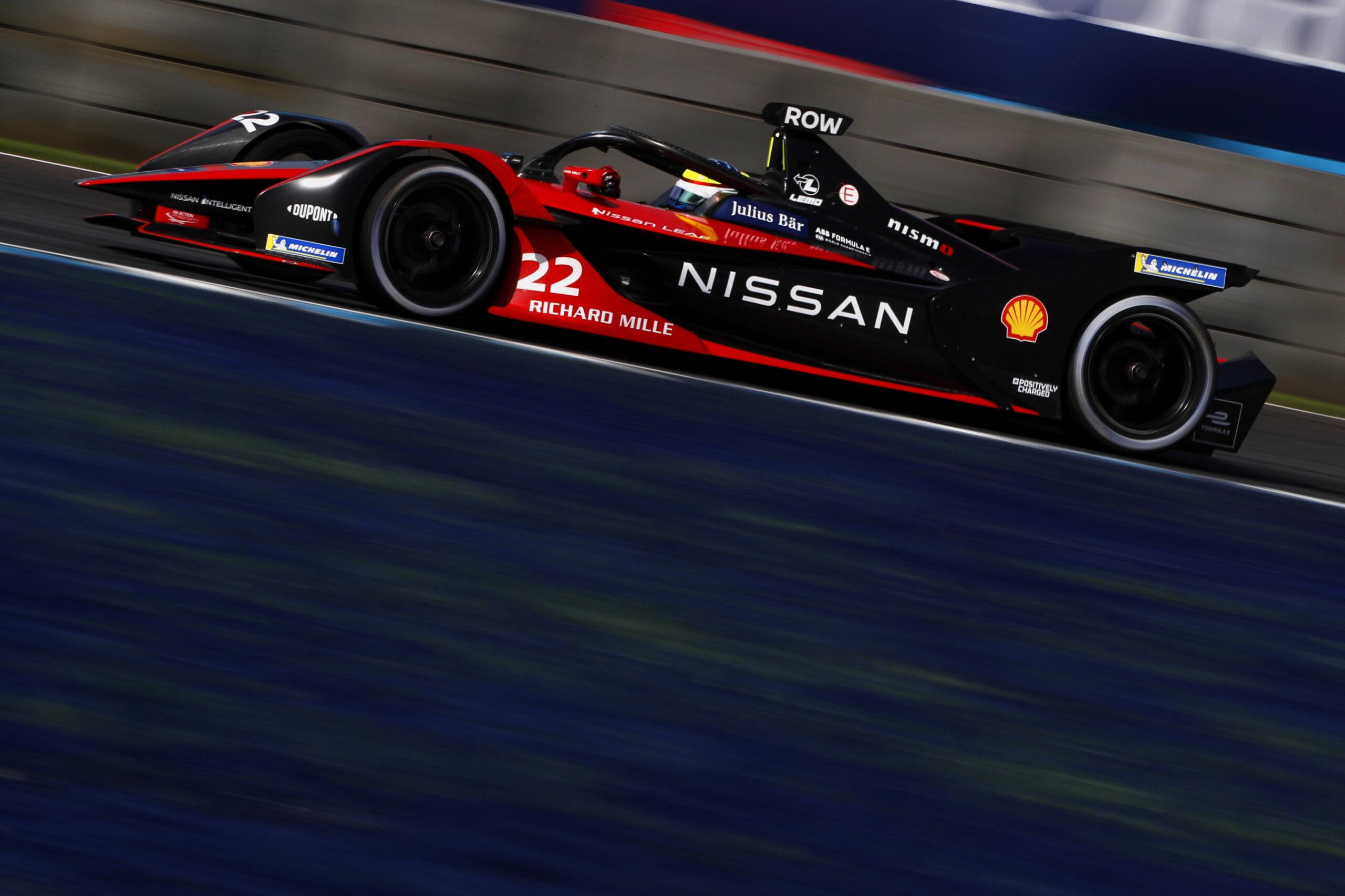 Qualifiche E-Prix di Puebla (Round 9) di Formula E: Rowland in Super Pole con la sua Nissan, Mercedes ancora in difficoltà.