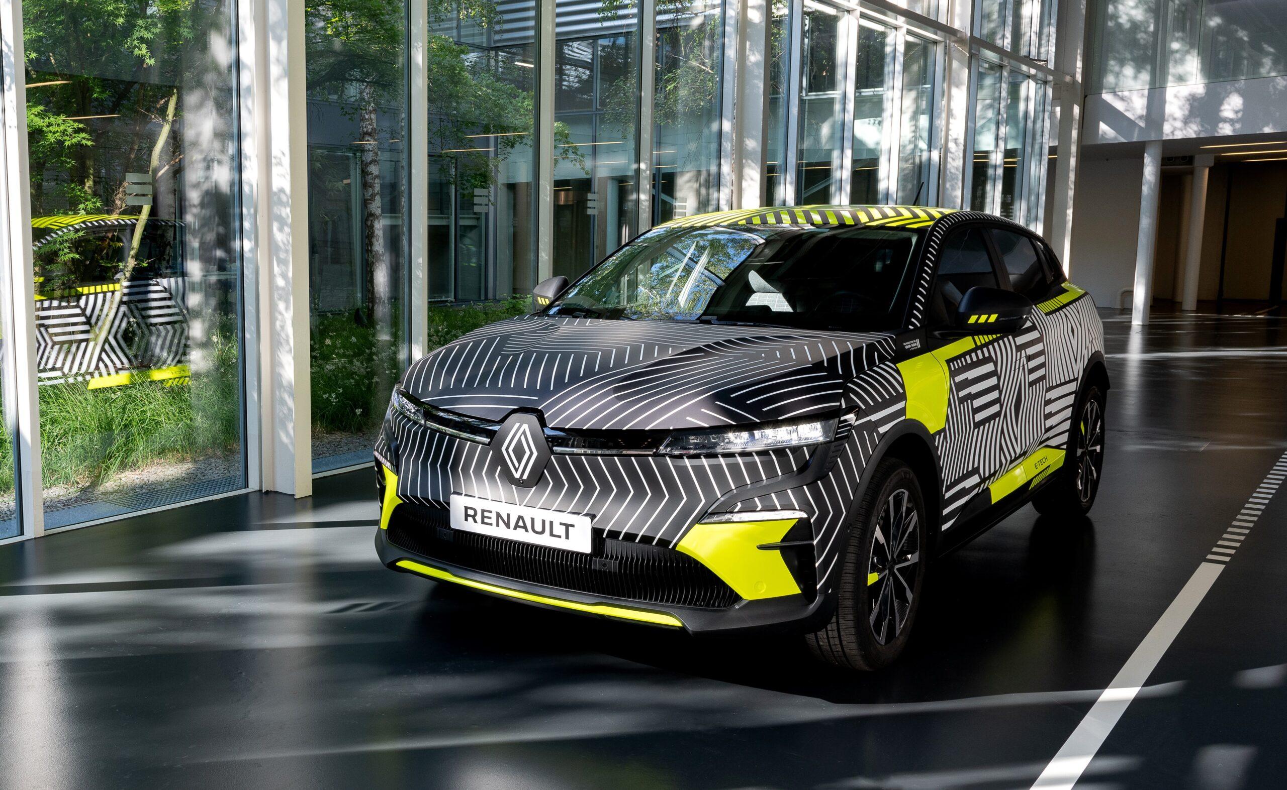 Nuove informazioni sulla Nuova Renault Megane E-Tech Electric.