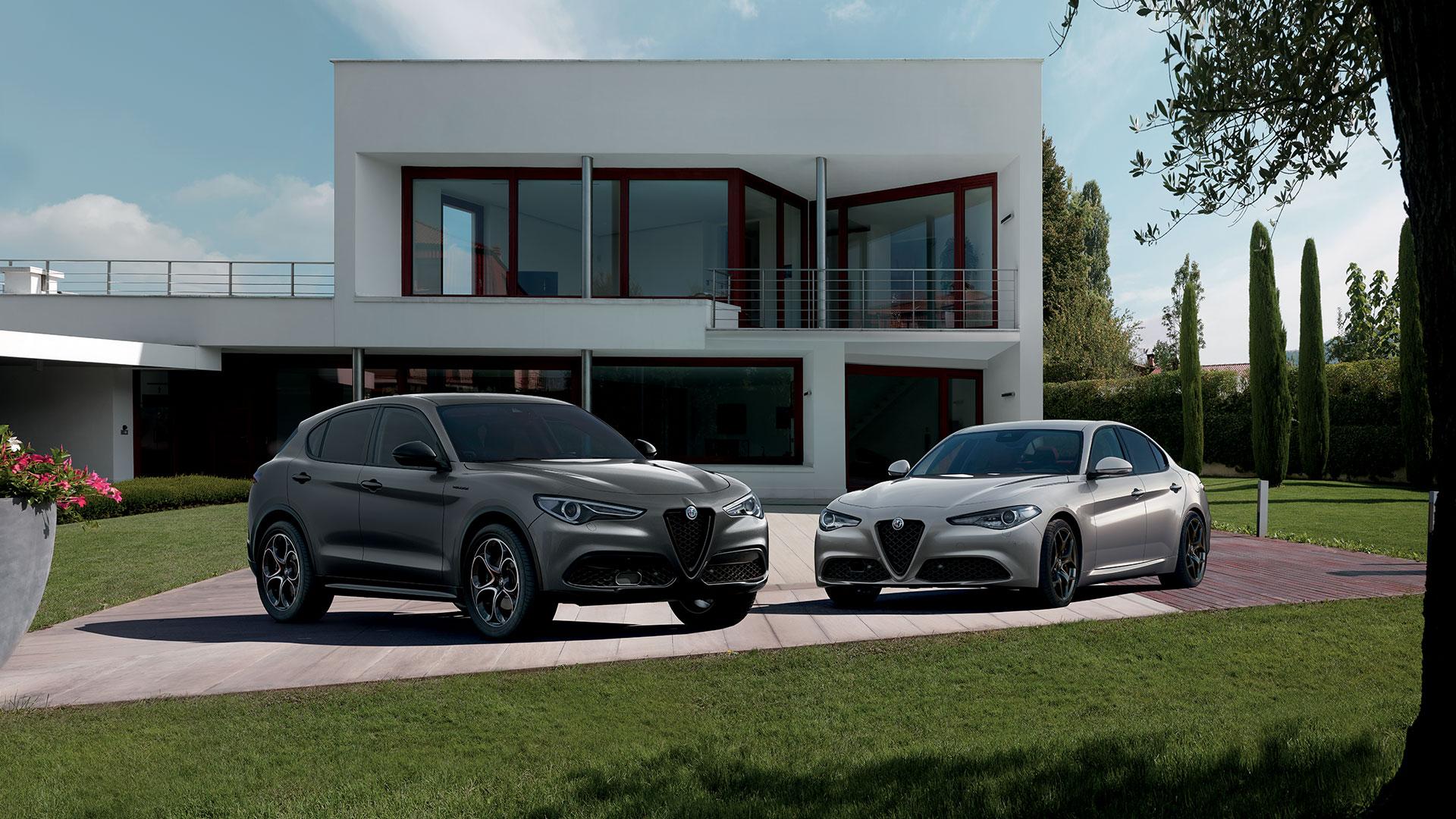 Presentate l'Alfa Romeo Giulia e Stelvio Web Edition.