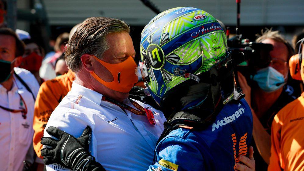 Il CEO della McLaren Zak Brown gareggerà a Zandvoort.