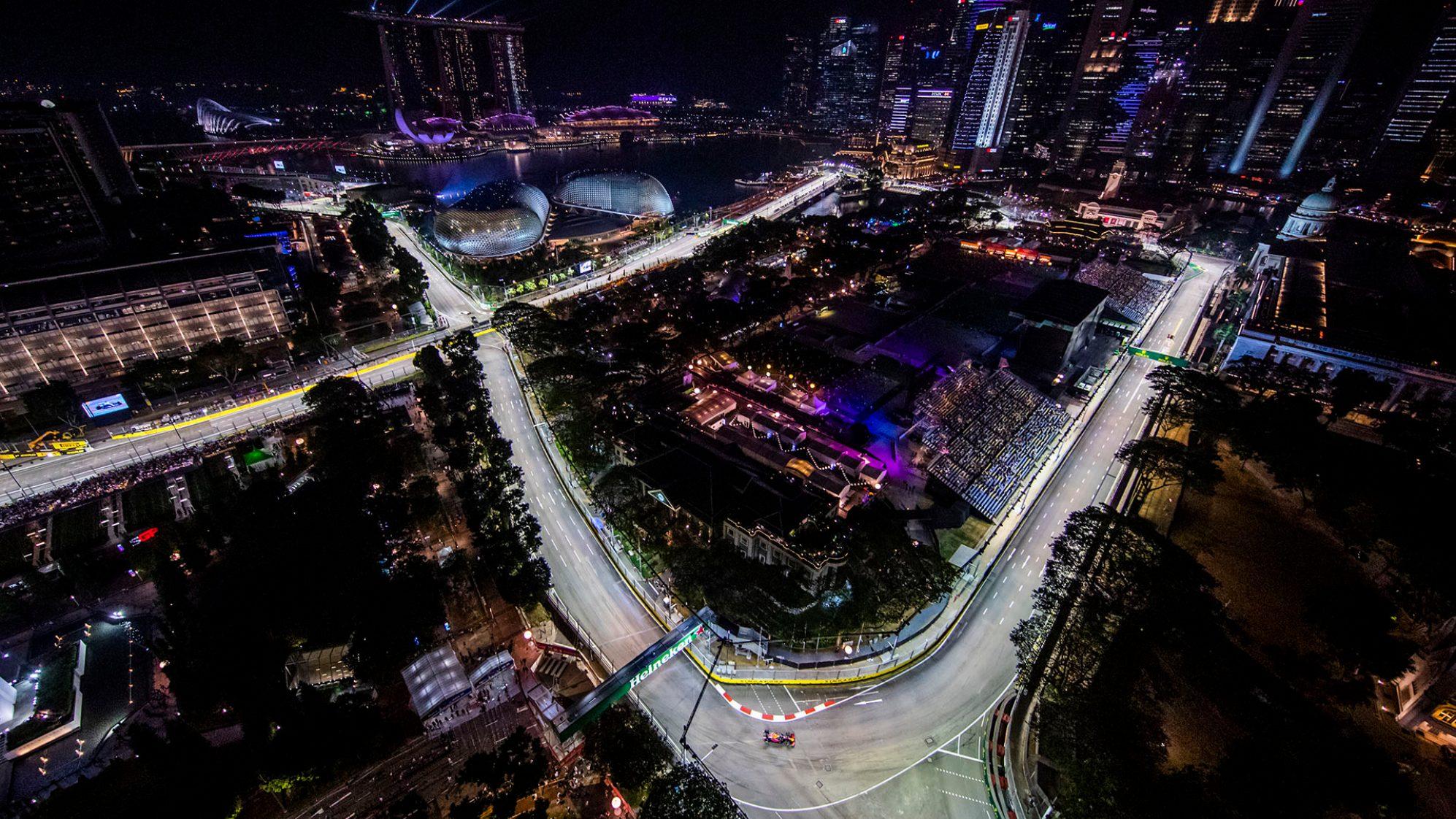 Cancellato il Gp di Singapore 2021.