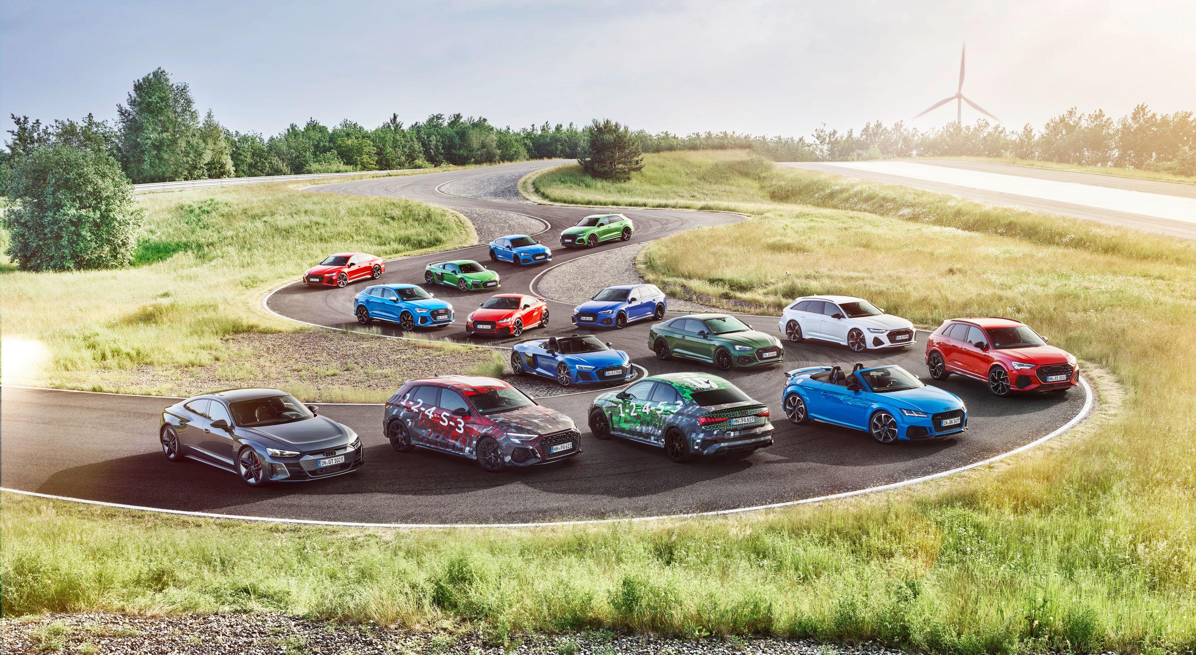Nuova Audi RS 3 in arrivo: prime immagini.