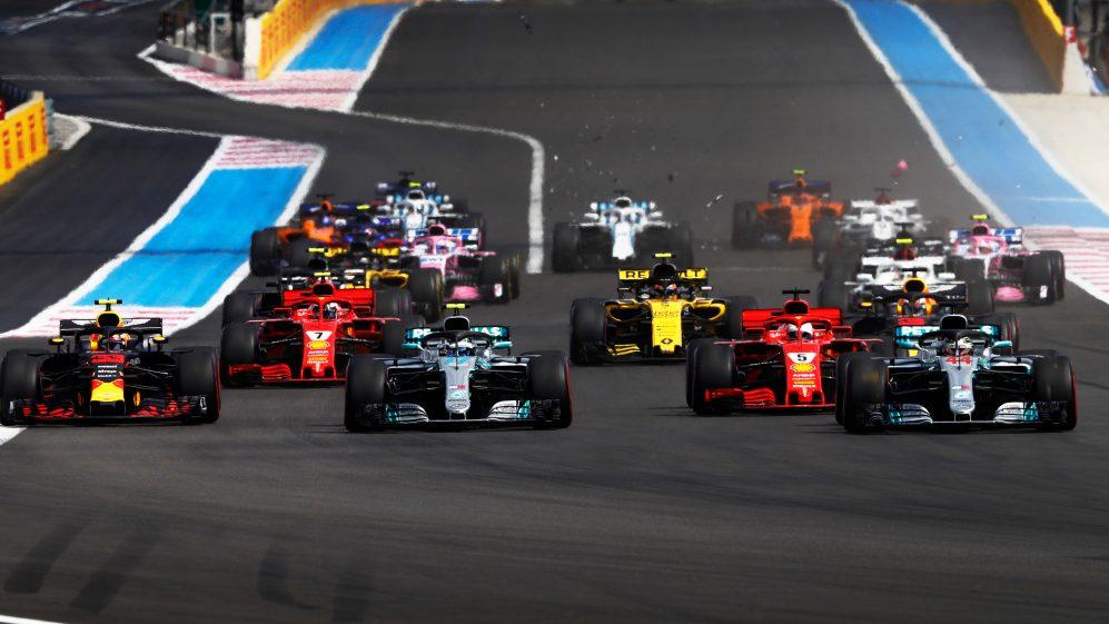 F1: Gp Francia, gomme a disposizione.