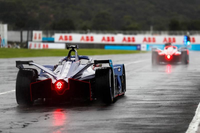 Qualifiche E-Prix del Messico di Formula E: Wehrlein in pole con la sua Porsche.